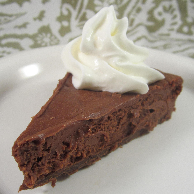 Dark Chocolate and Orange Mascarpone Tart