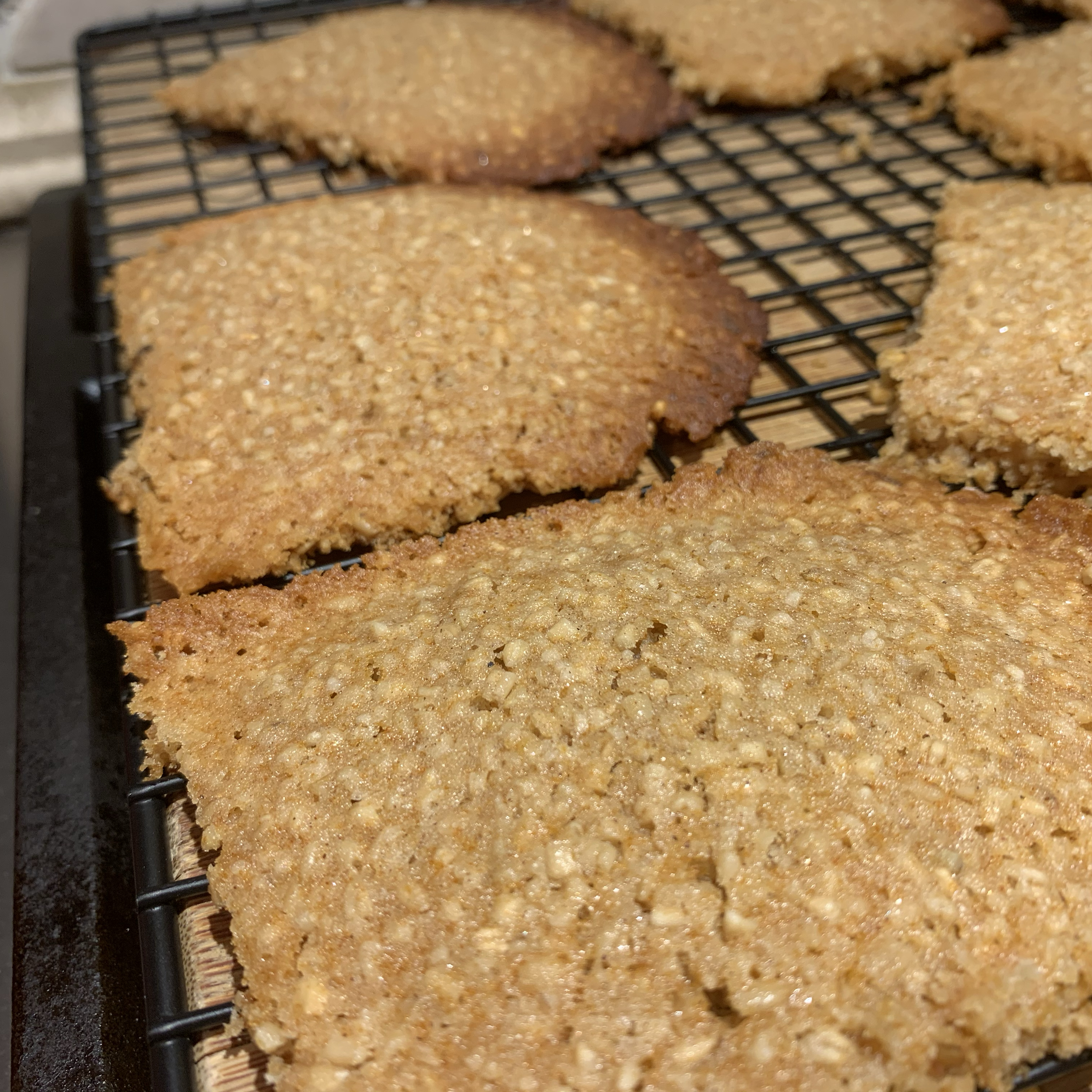 Honey Oatmeal Cookies Nancy
