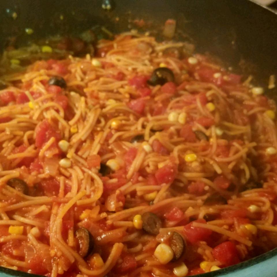 Fideo (Mexican Spaghetti) fruitdog