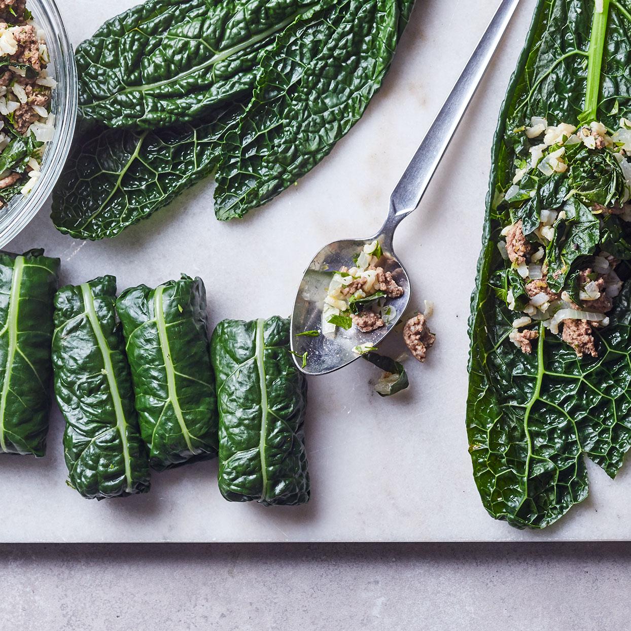 Quick Kale Dolmas Adam Dolge