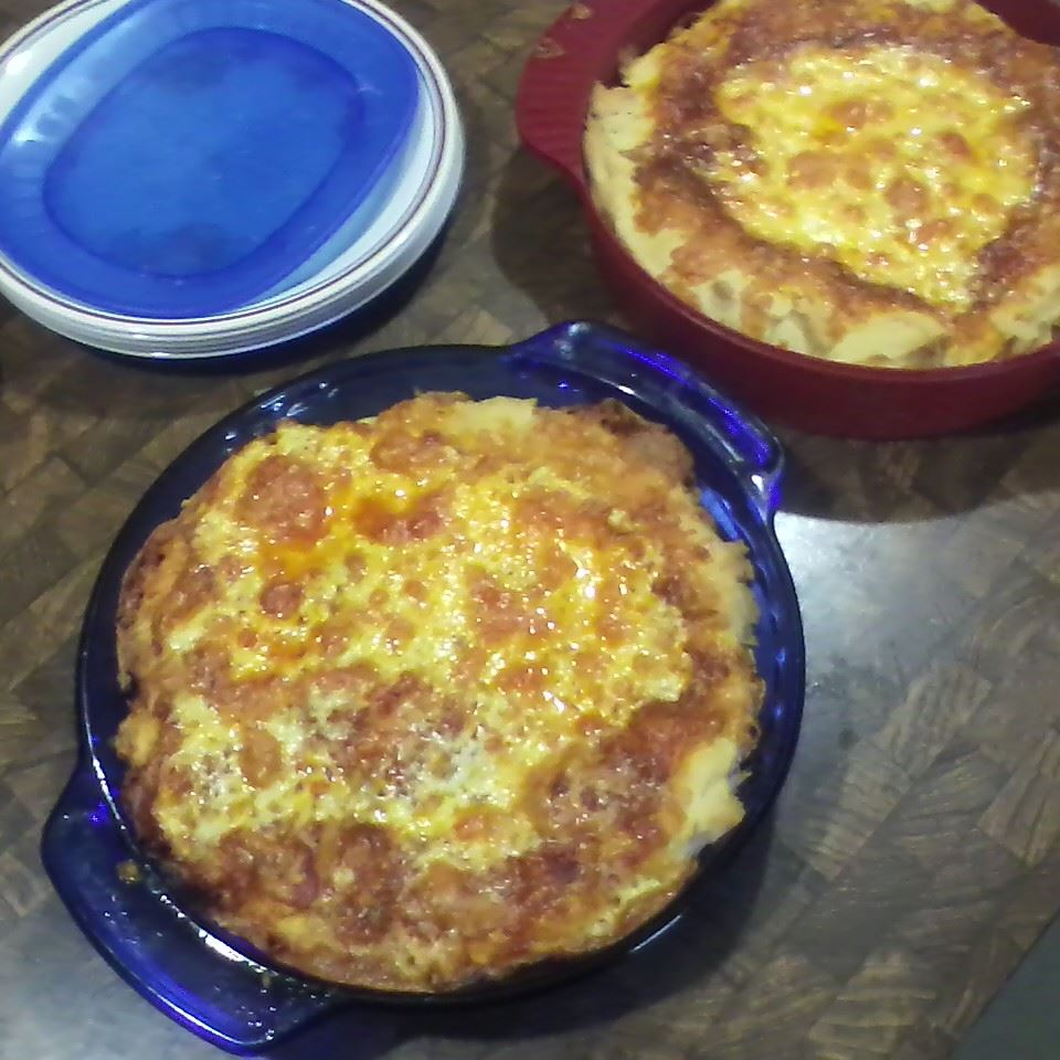 1-Dish Pepperoni Cheese Pizza Bake Becky Cramer