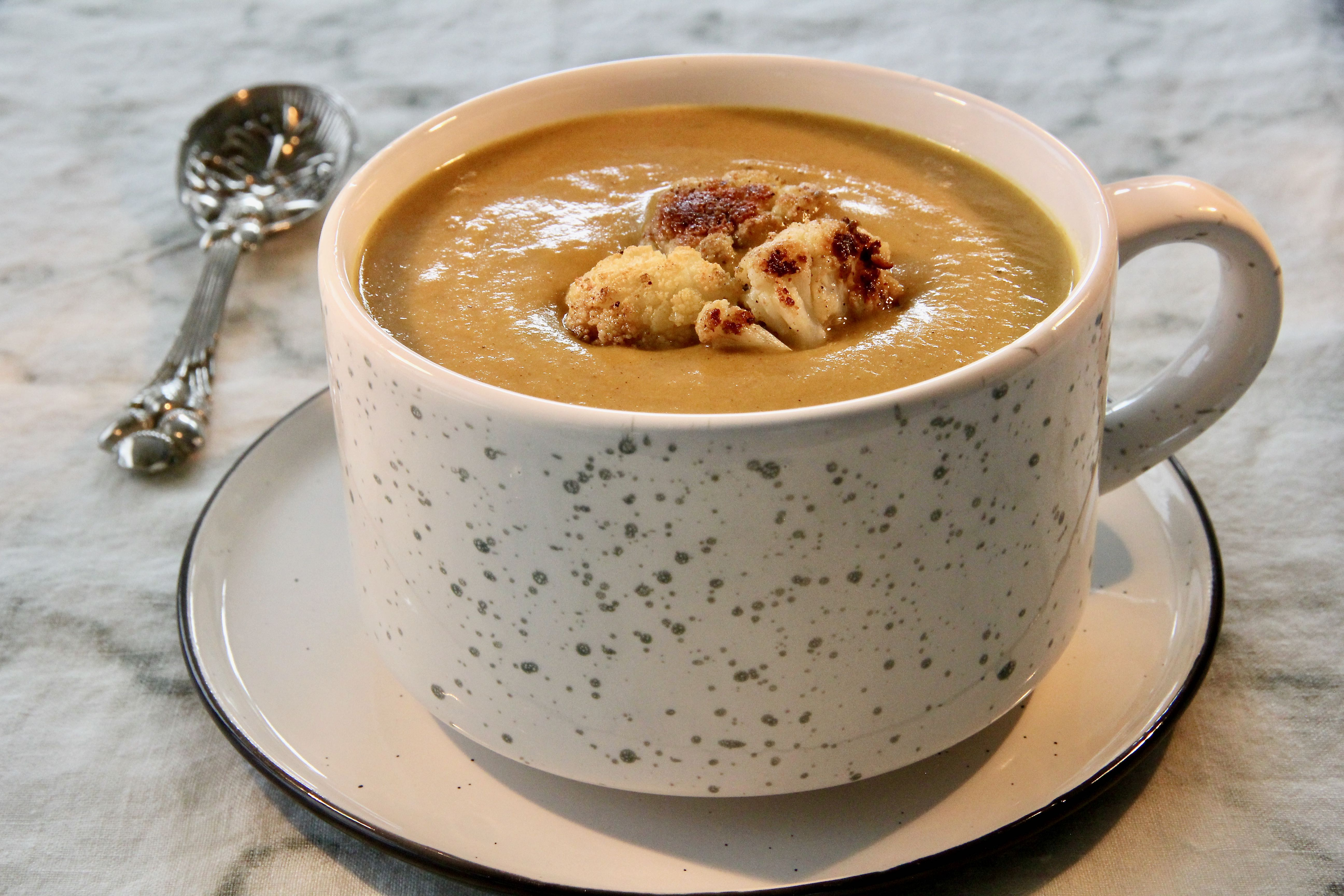 Curried Cauliflower-Potato Soup