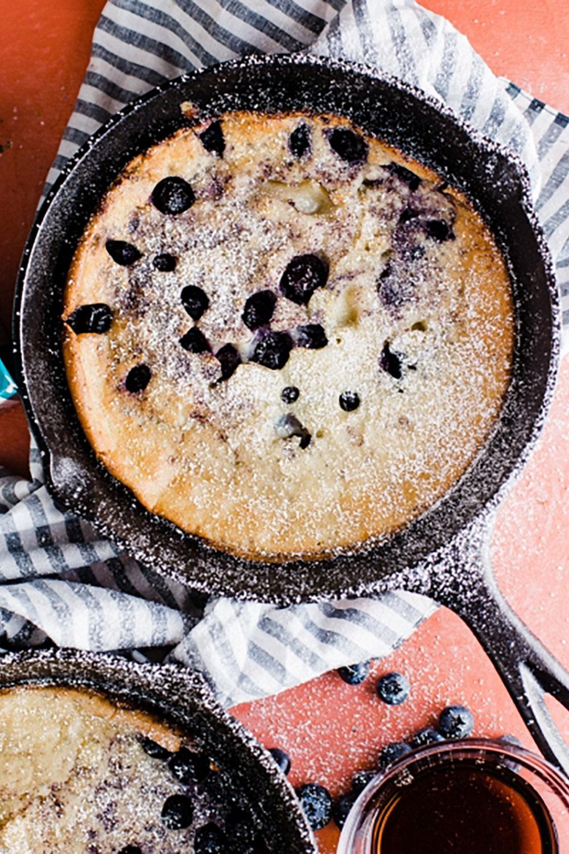 Blueberry Skillet Pancakes