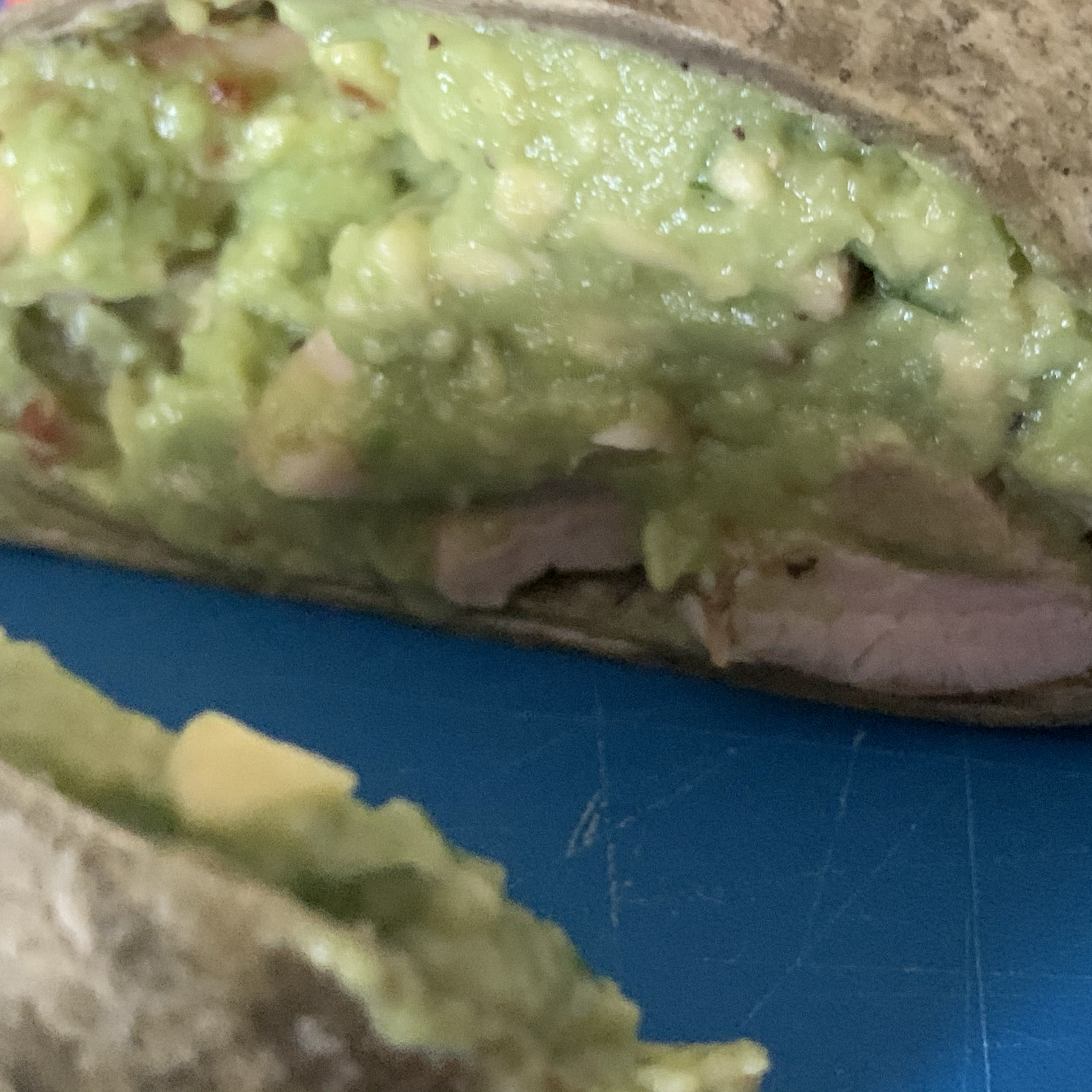 Basil-Avocado Chicken Salad Wraps Casey I