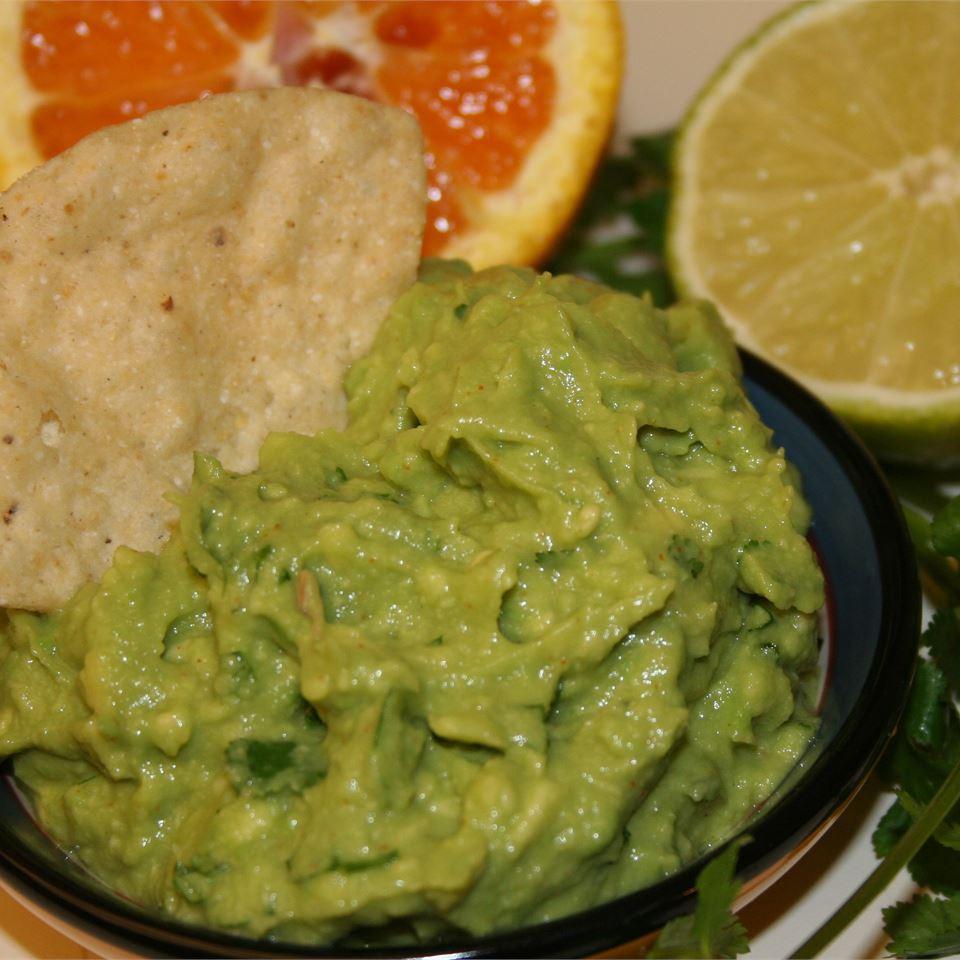 Citrus Infused Guacamole FRANNIE420