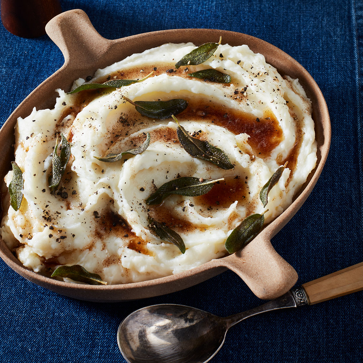 Whipped Potatoes with Sage Brown Butter Amy Thielen
