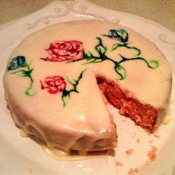 Rose Water Cake