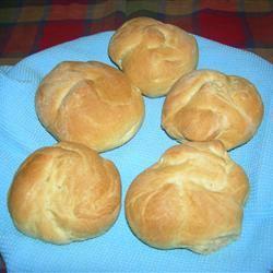 Bread Machine Rolls redly