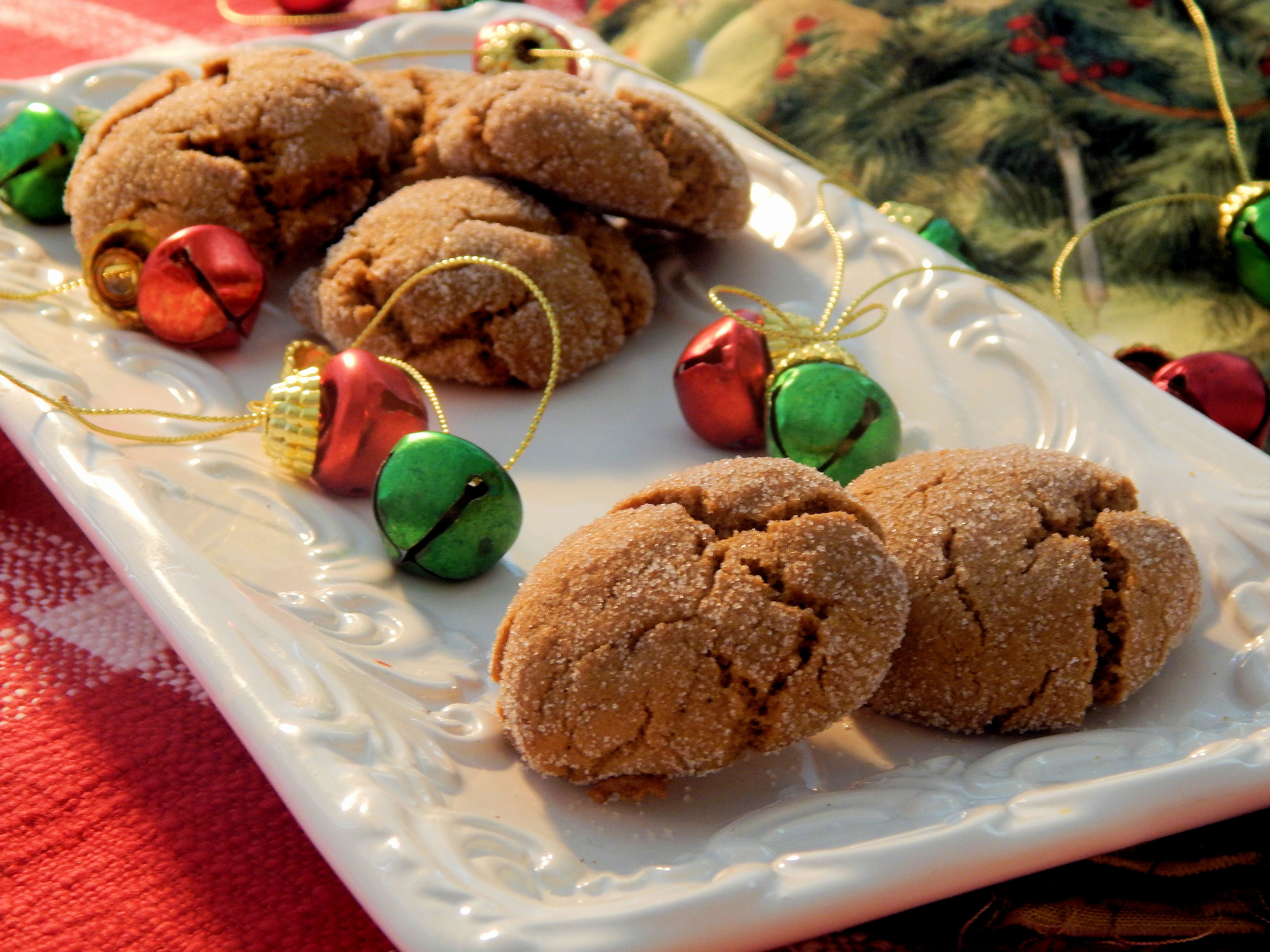 Lunchbox Ginger Cookies