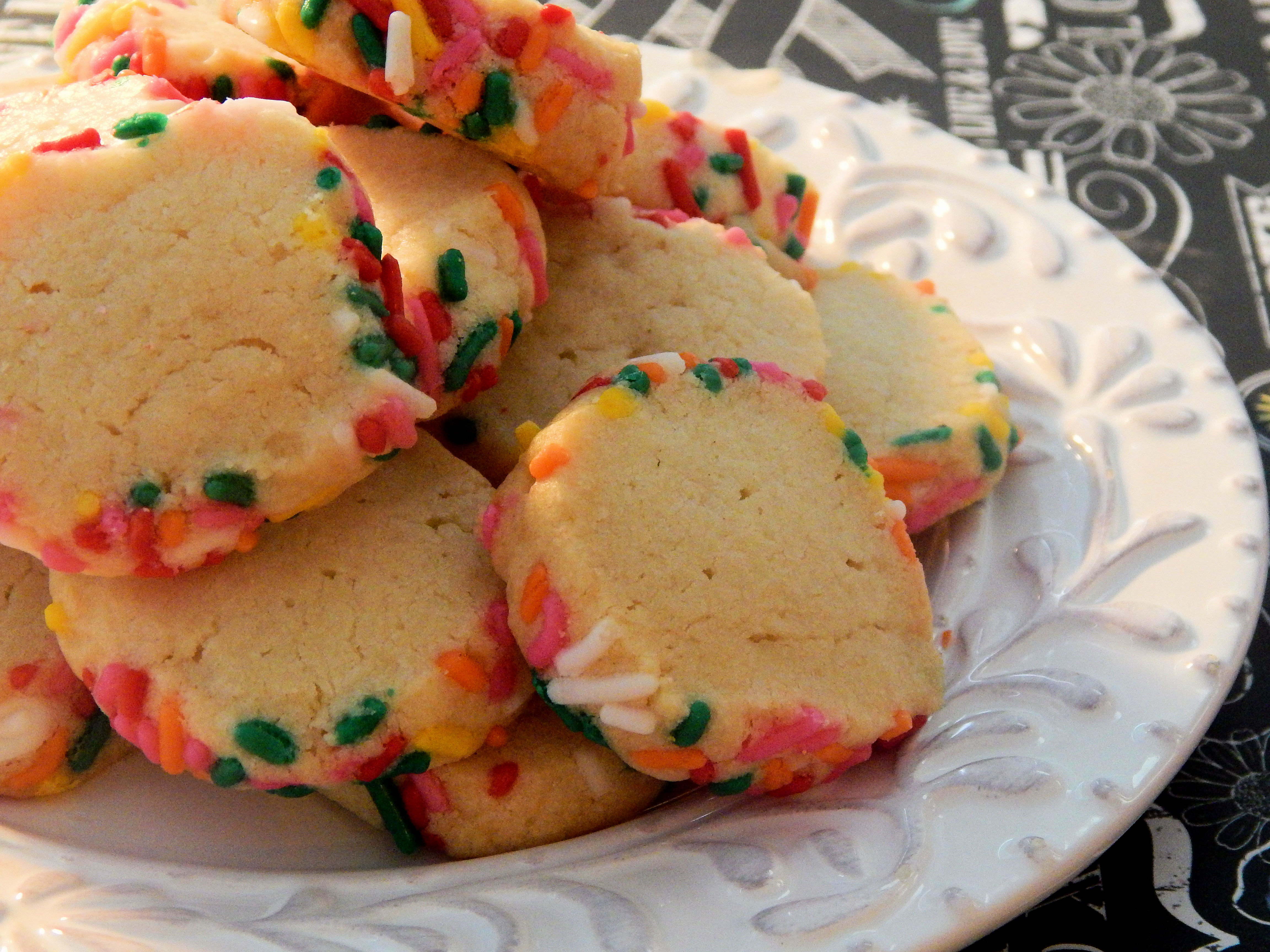 Freezer Butter Cookies