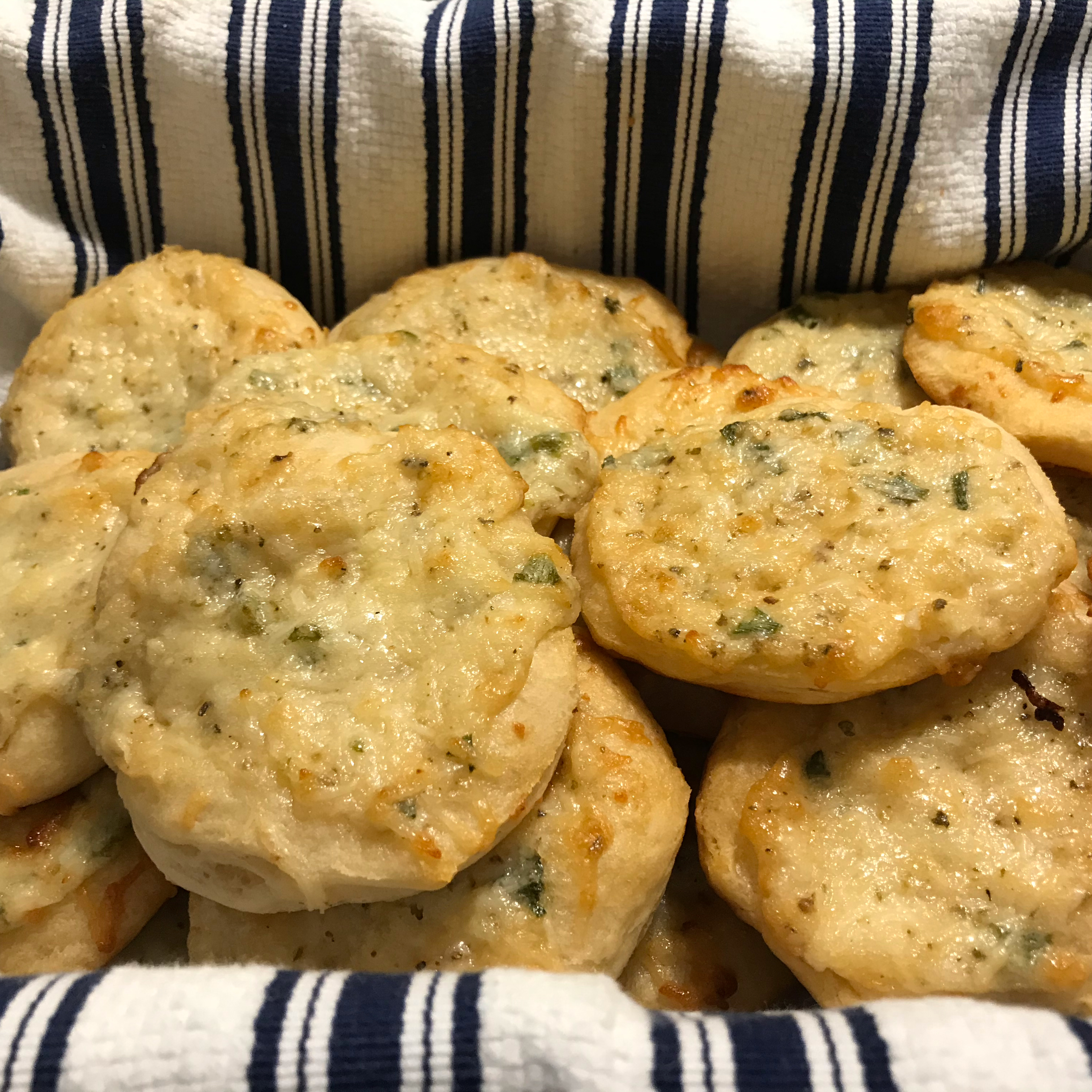 Herbed Cheese Puffs