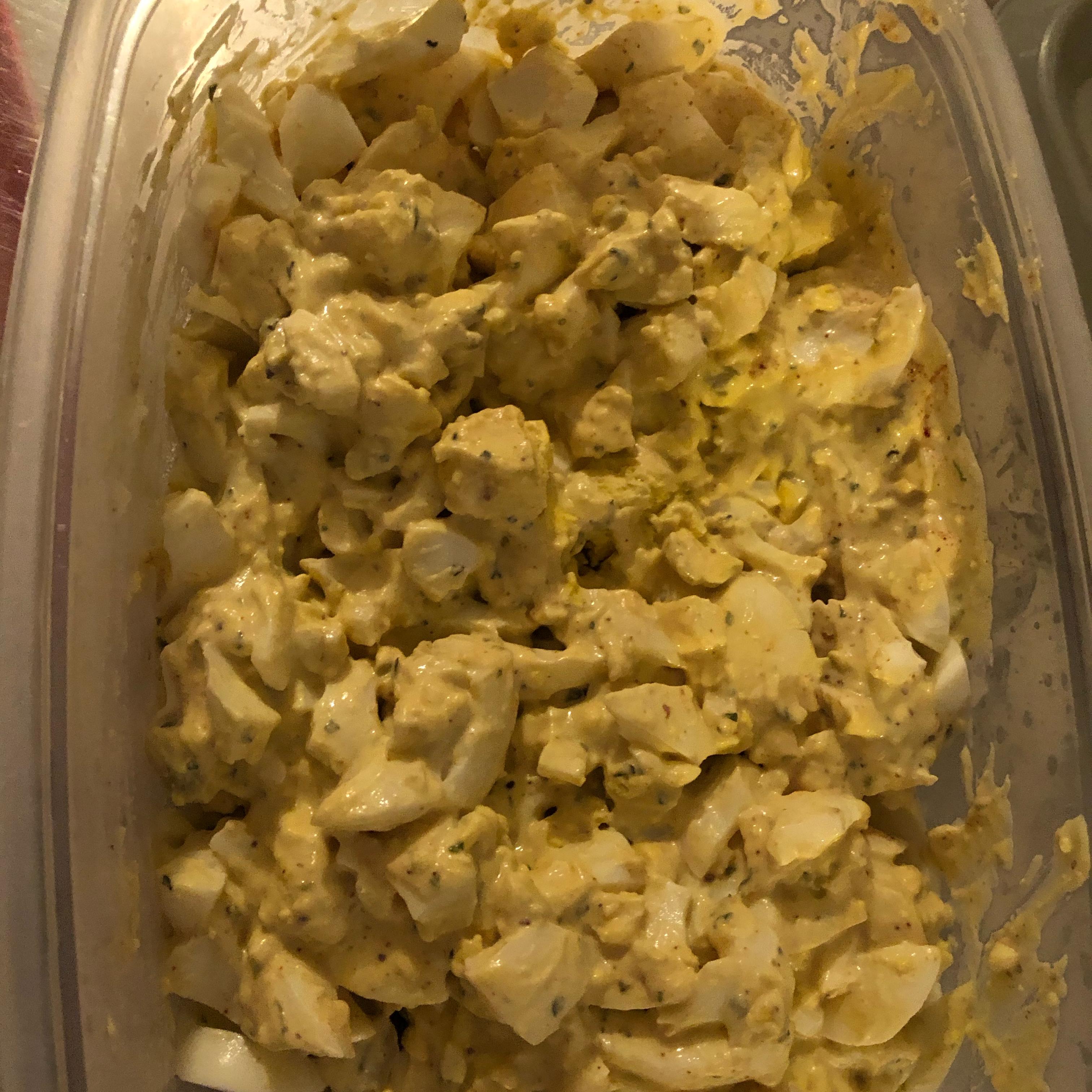 A Healthy Egg Salad Suzi Cameron Gold