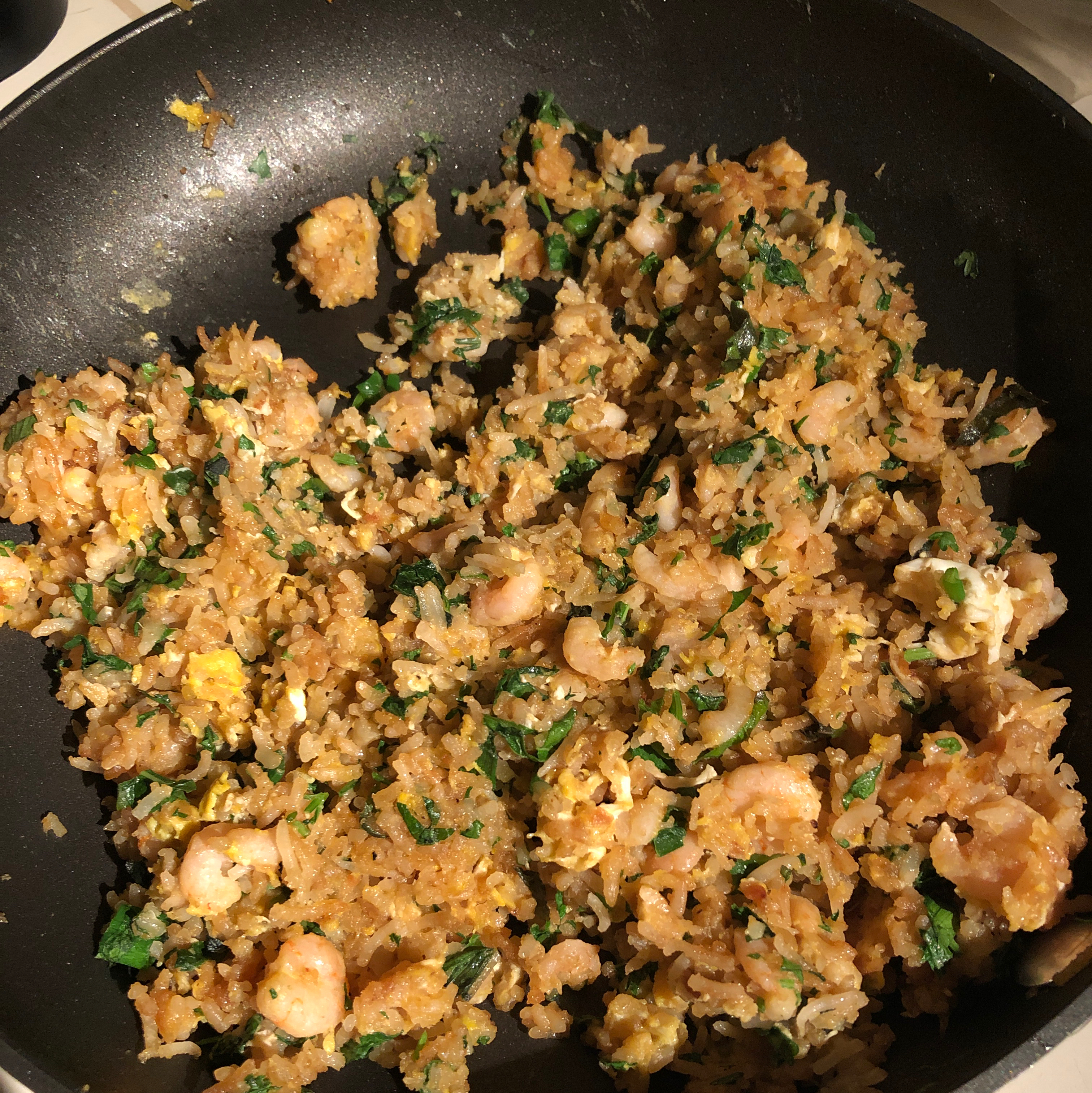 Fried Rice with Cilantro Mturner31