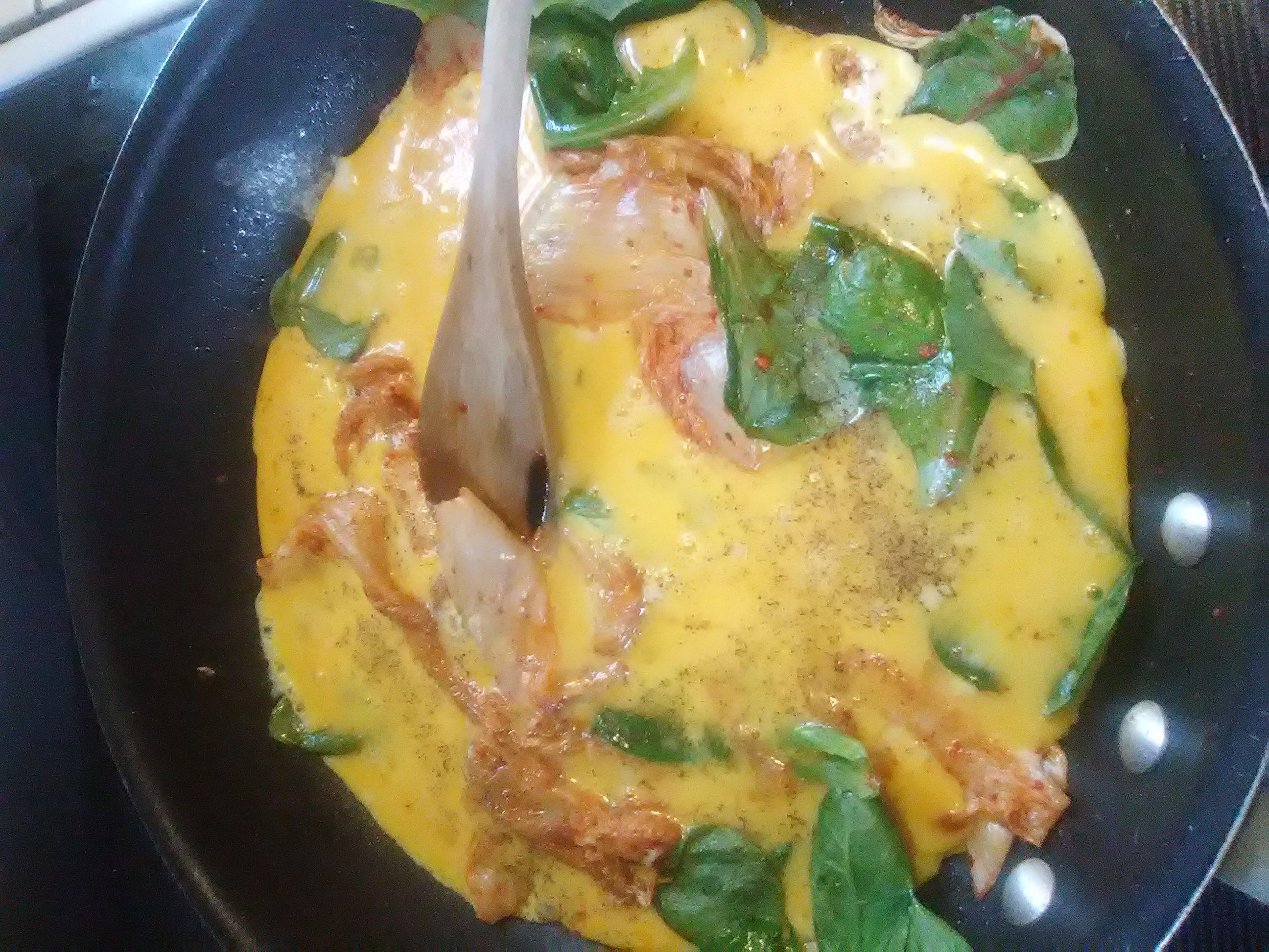 Mom's Kimchi Egg NanaDebbie