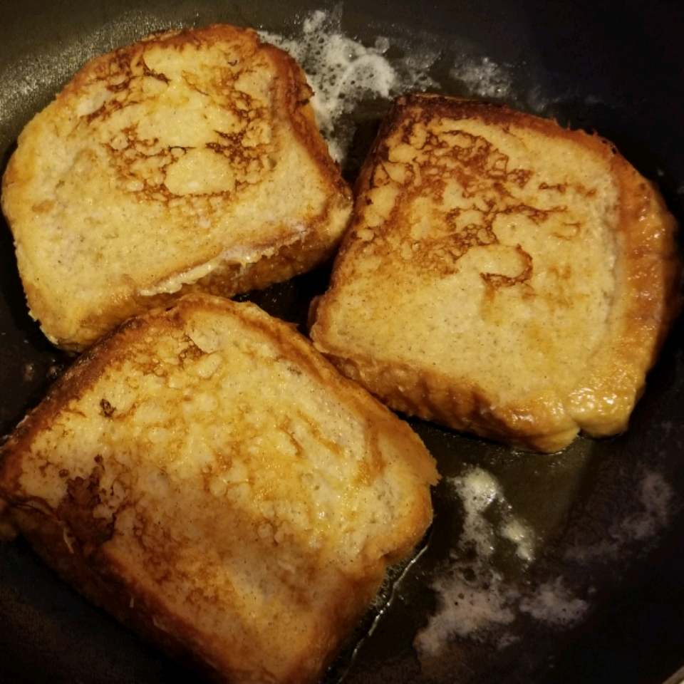 Vanilla-Almond Spiced French Toast tina hernandez