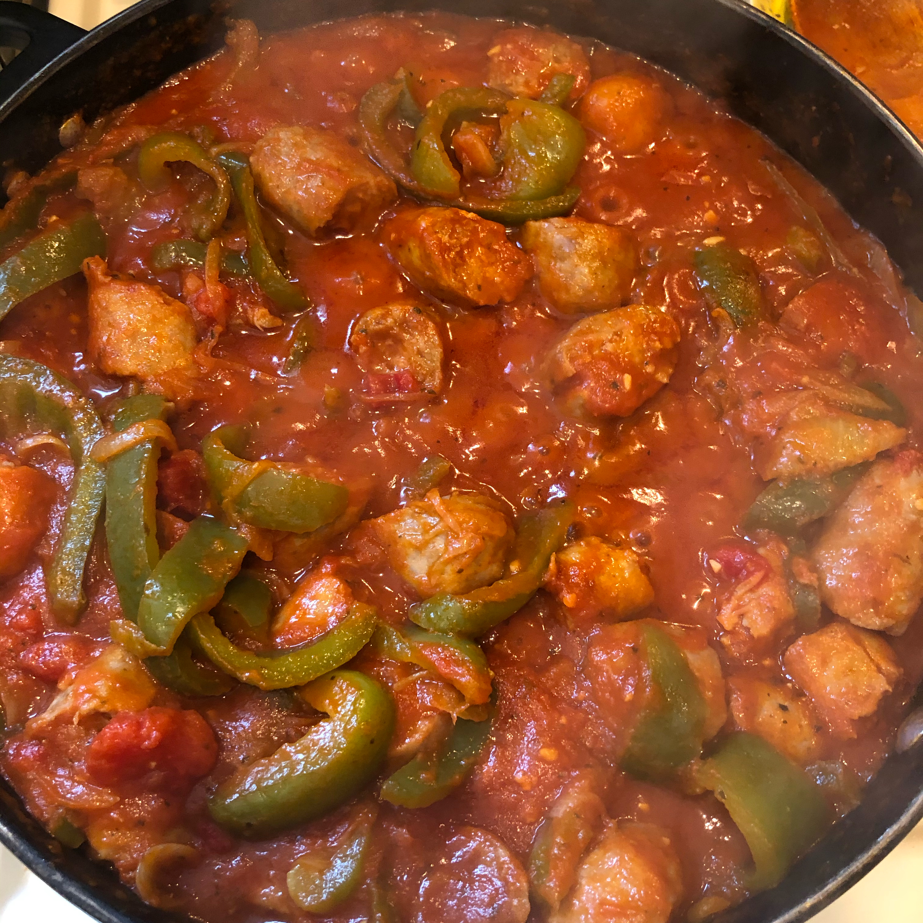 Super-Easy Sausage and Peppers jvickers600