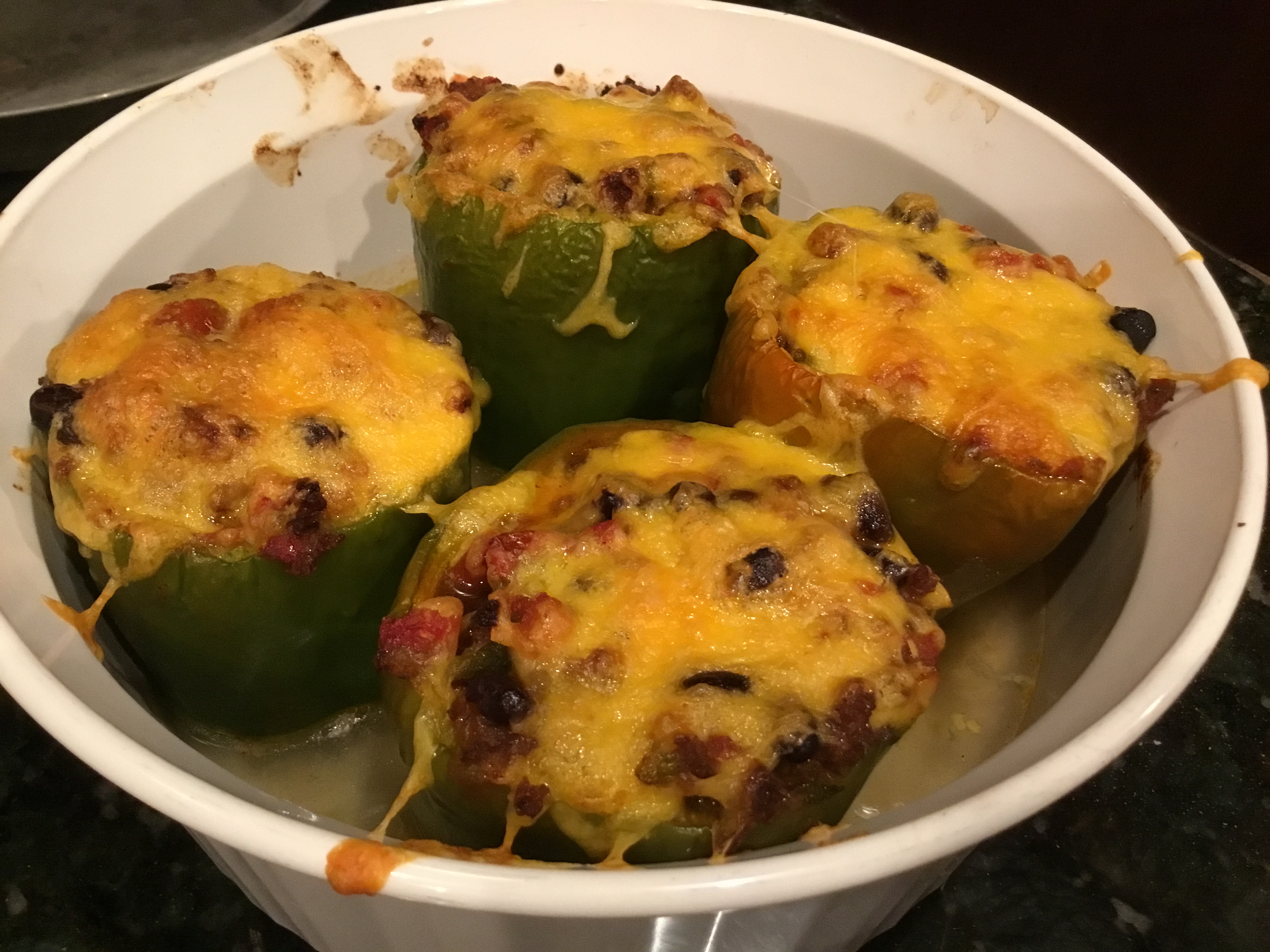 Mexican Chicken-Stuffed Peppers Melinda Debus
