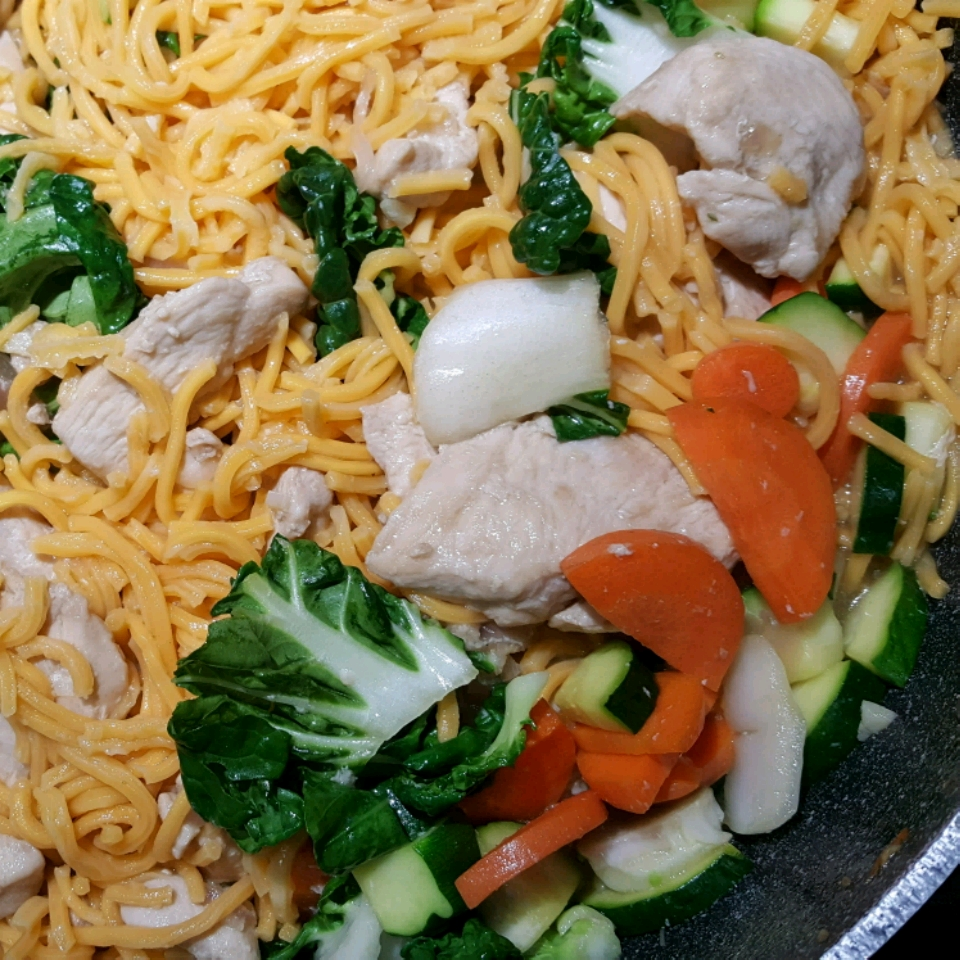 Chow Mein with Chicken and Vegetables Allrecipes