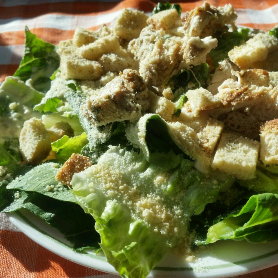 Classic Chicken Caesar Salad HealthyRecipes