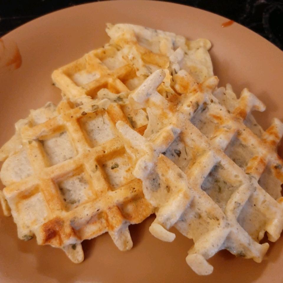 Potato Waffles wafaa omar