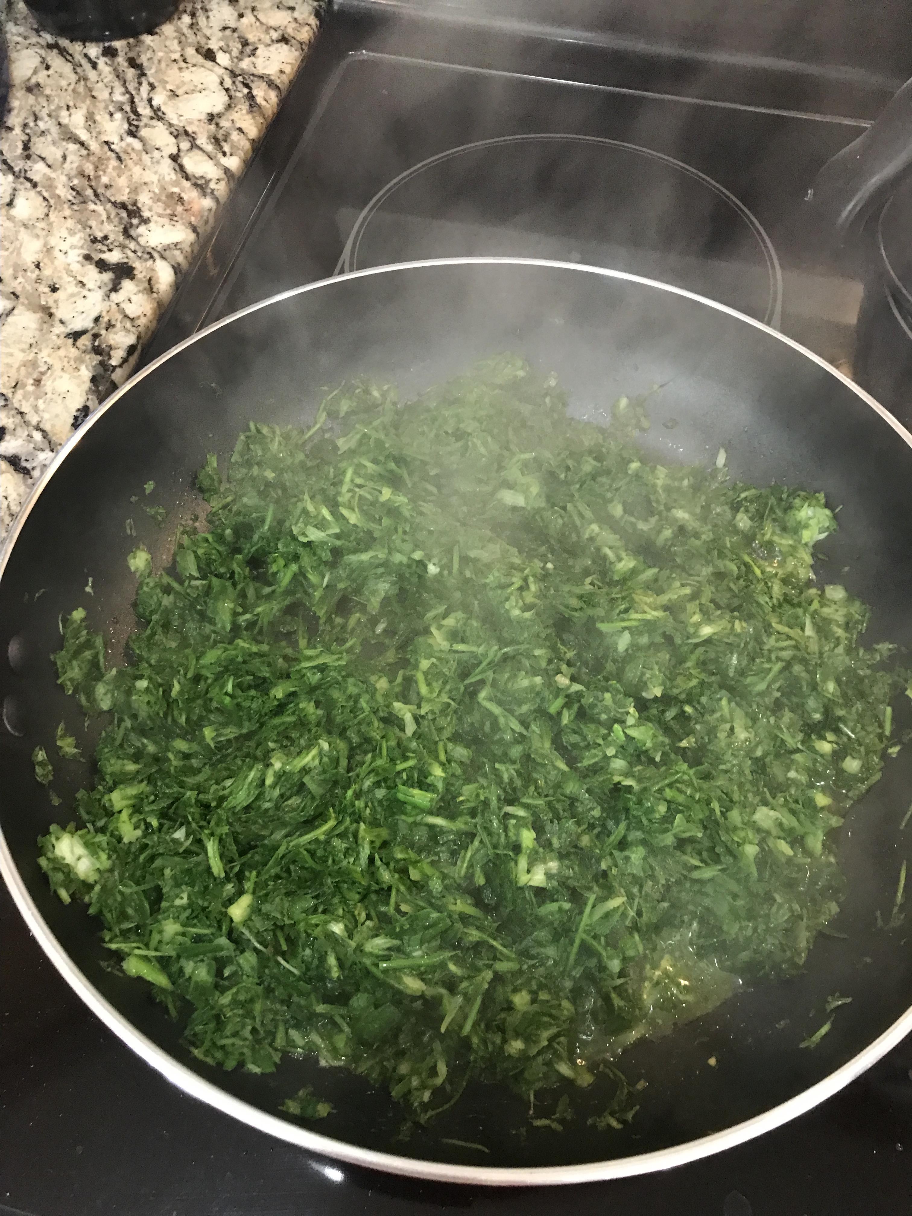 Ghormeh Sabzi (Persian Herb Stew) Helen Bazooband