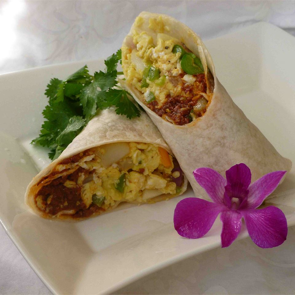 Chorizo Breakfast Burritos BARB75