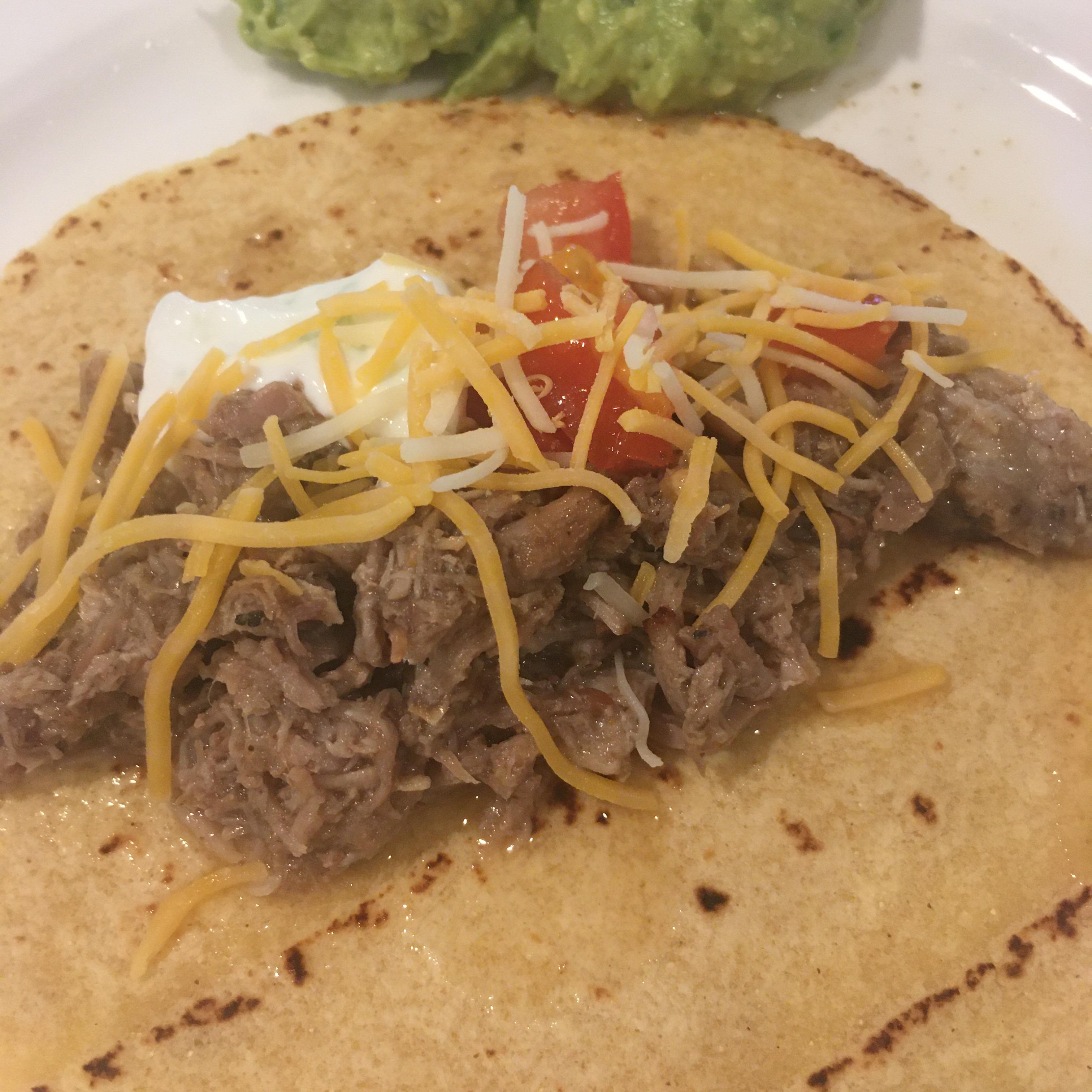 Zesty Carnitas Tacos barbara