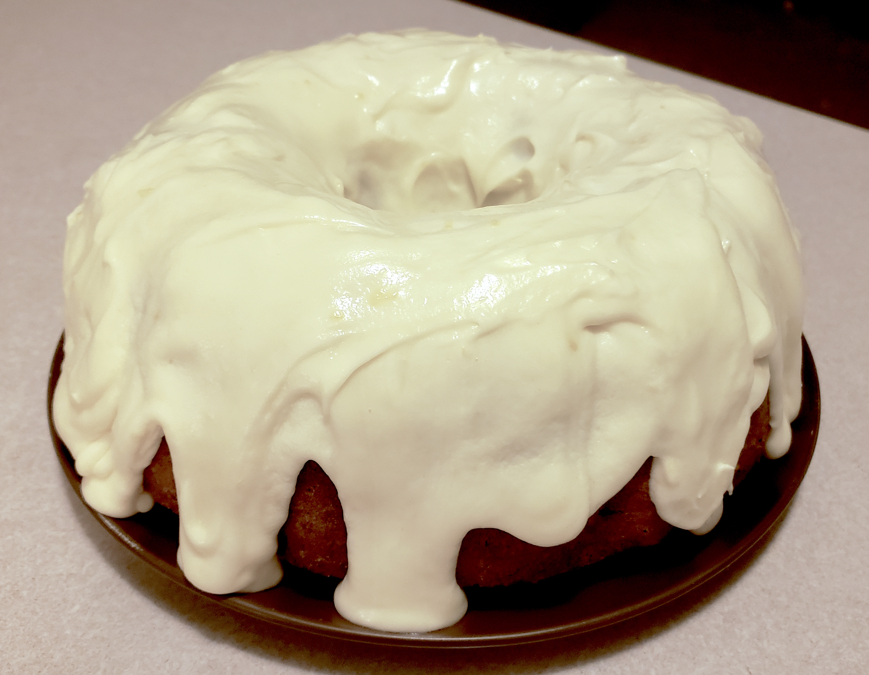 Carrot Cake with Cream Cheese Icing from Egg Farmers of Ontario Jimbo