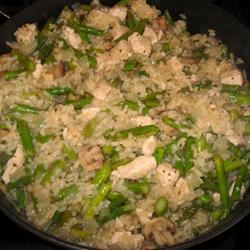Risotto with Chicken and Asparagus Kathy
