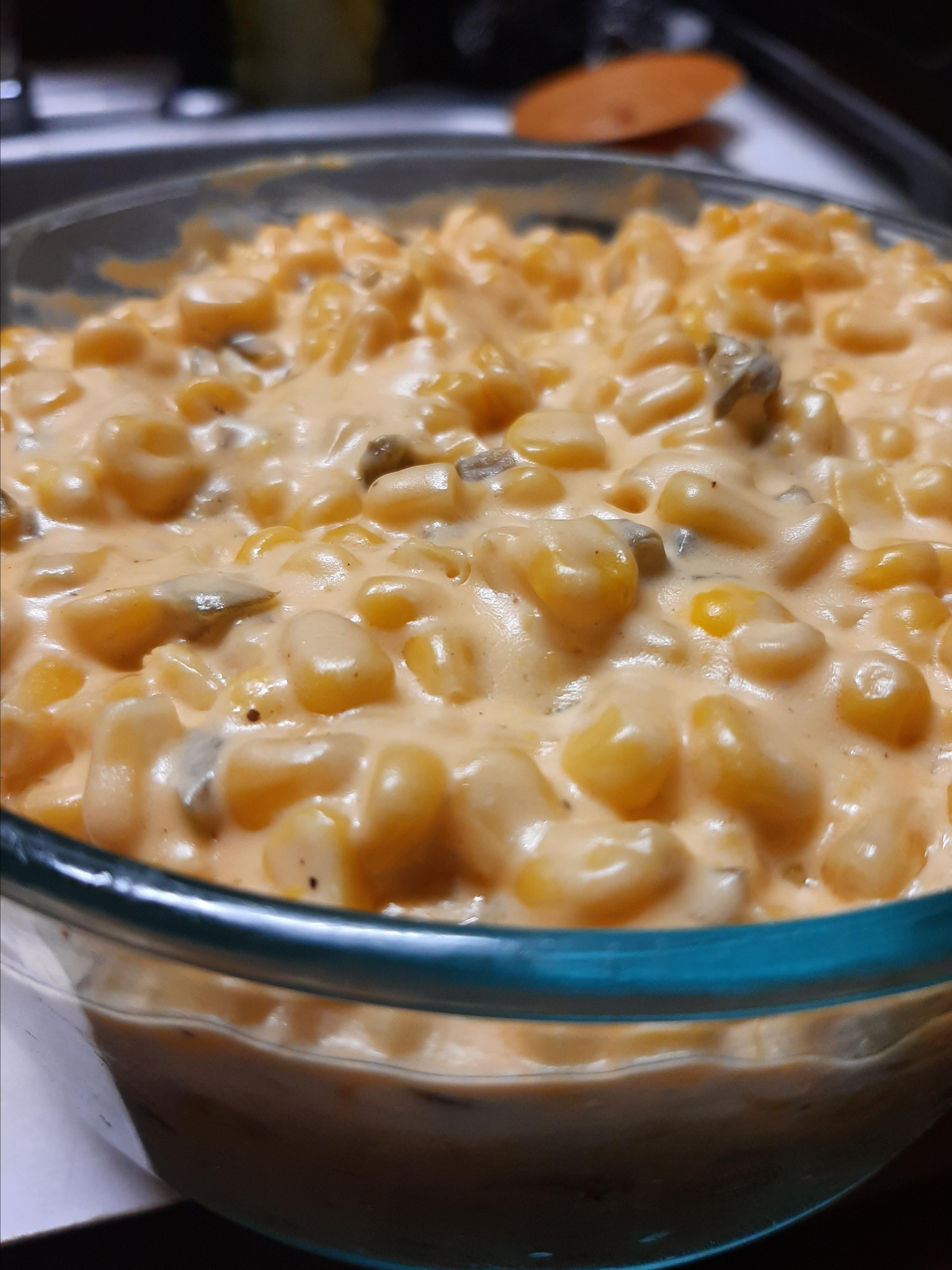 Jalapeno Creamed Corn Julie Shelton