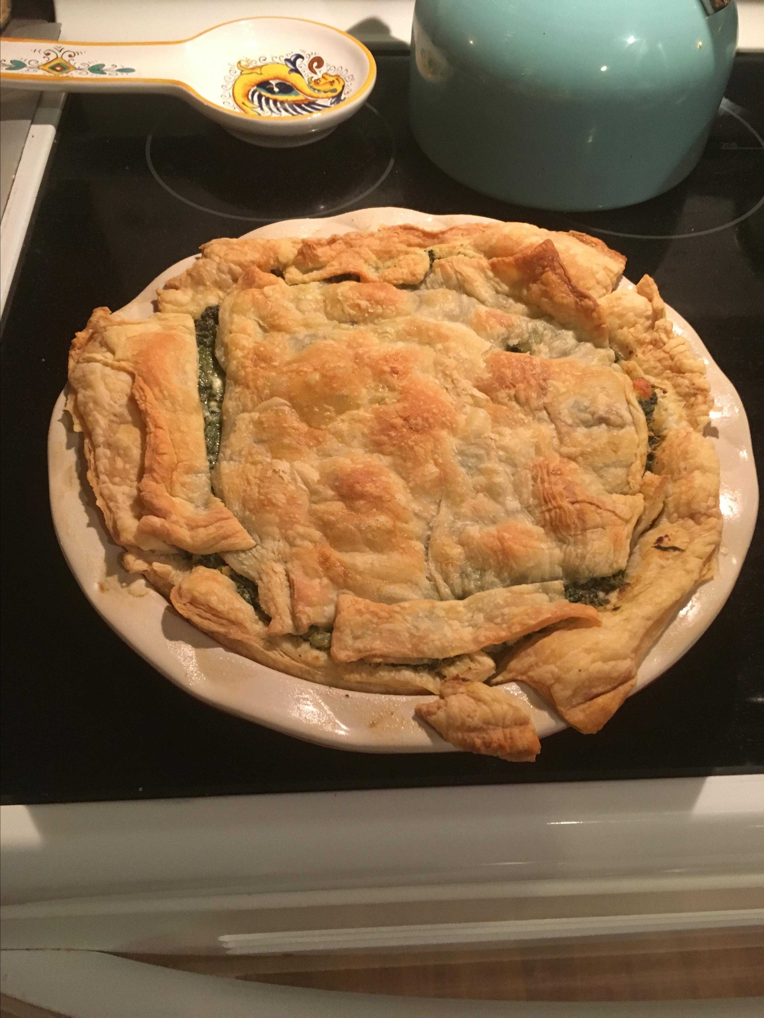Spinach and Cheese Pie Rayc441