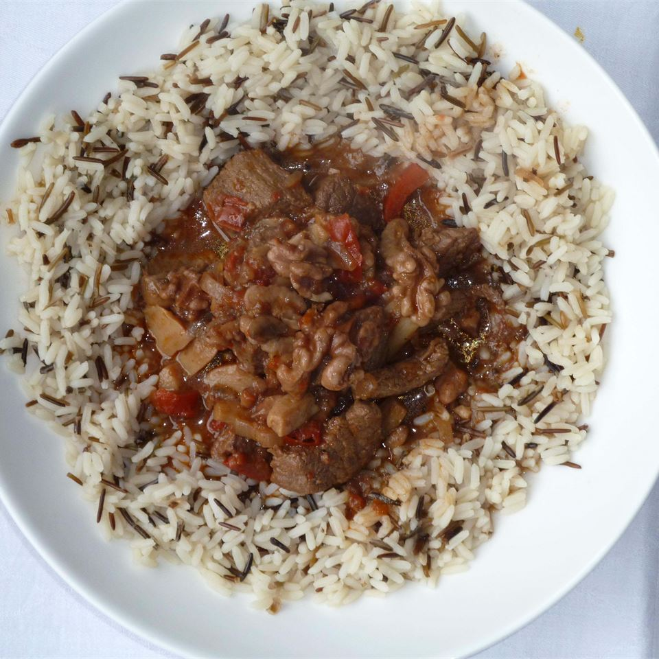 Beef and Walnut Stew
