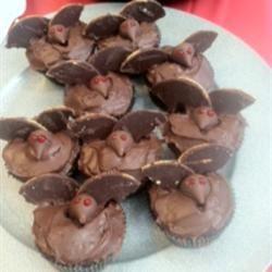 Bat Cupcakes Lu82