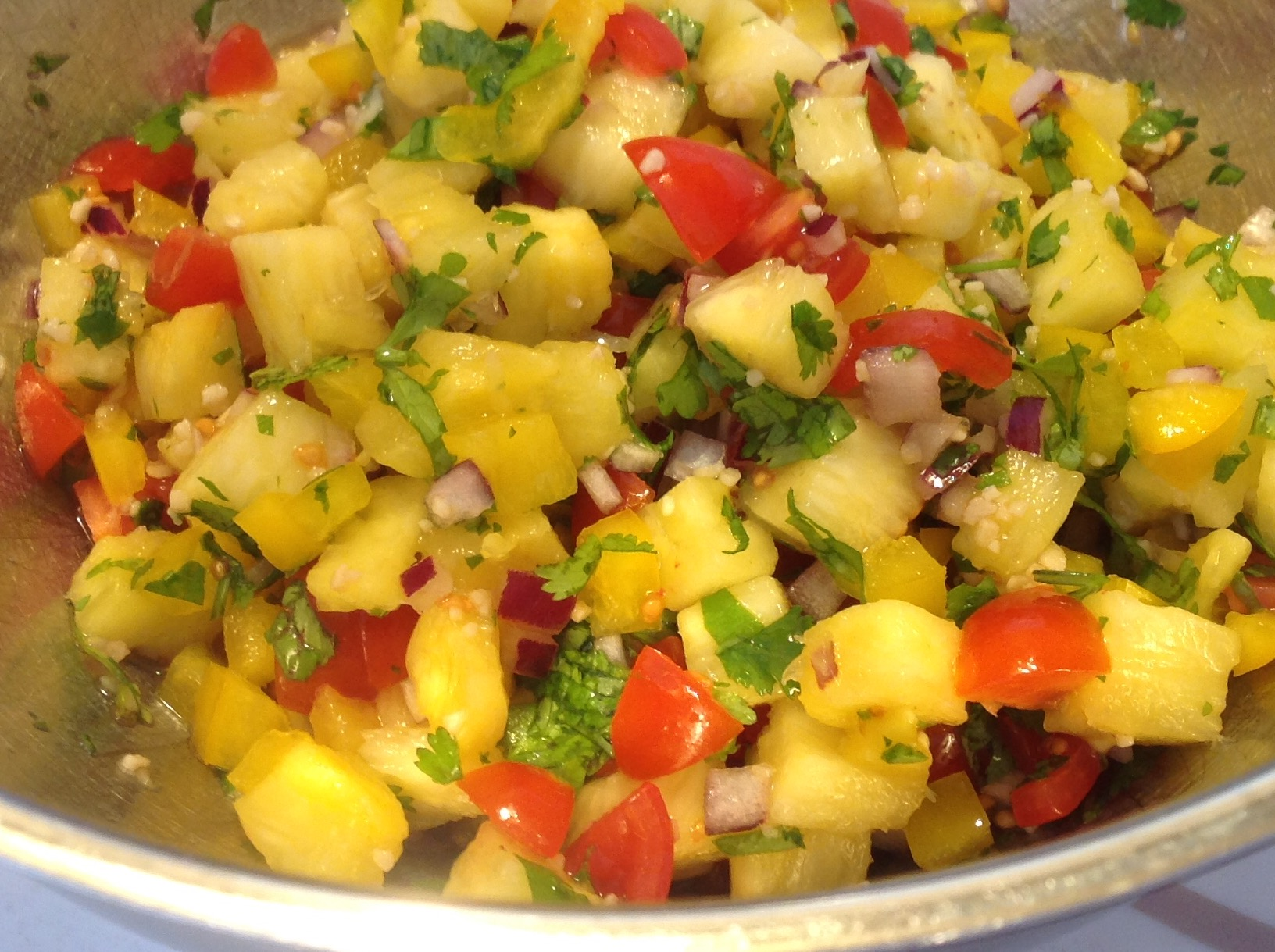 Fresh Pineapple Salsa Marilyn