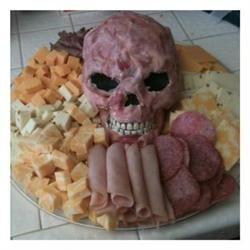 Halloween Meat Head