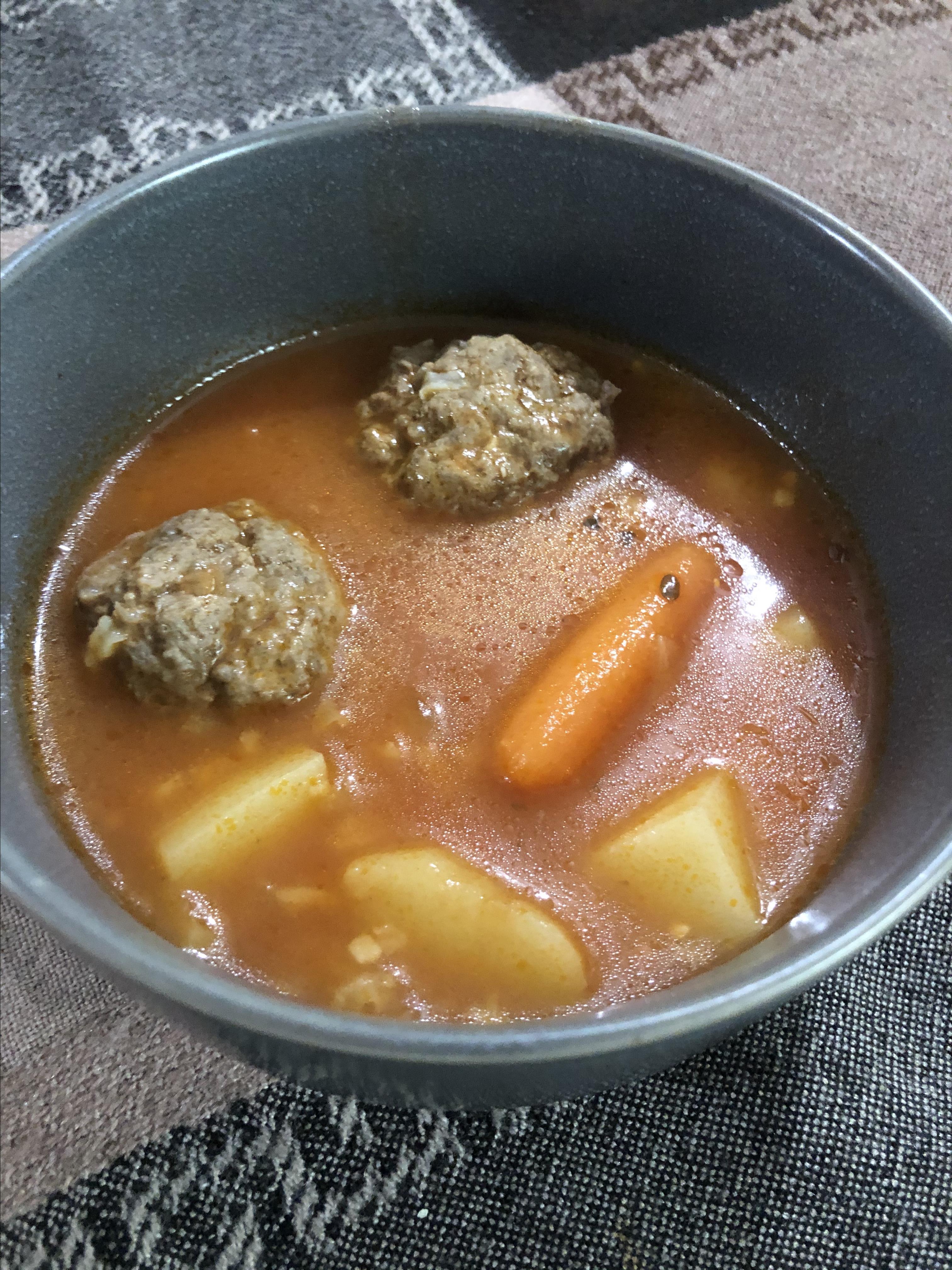 Lita's Albondigas (Meatball Soup) Chef Roy
