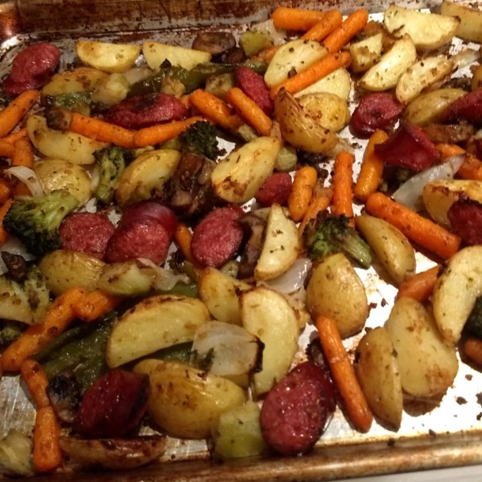 Oven Roasted Vegetables