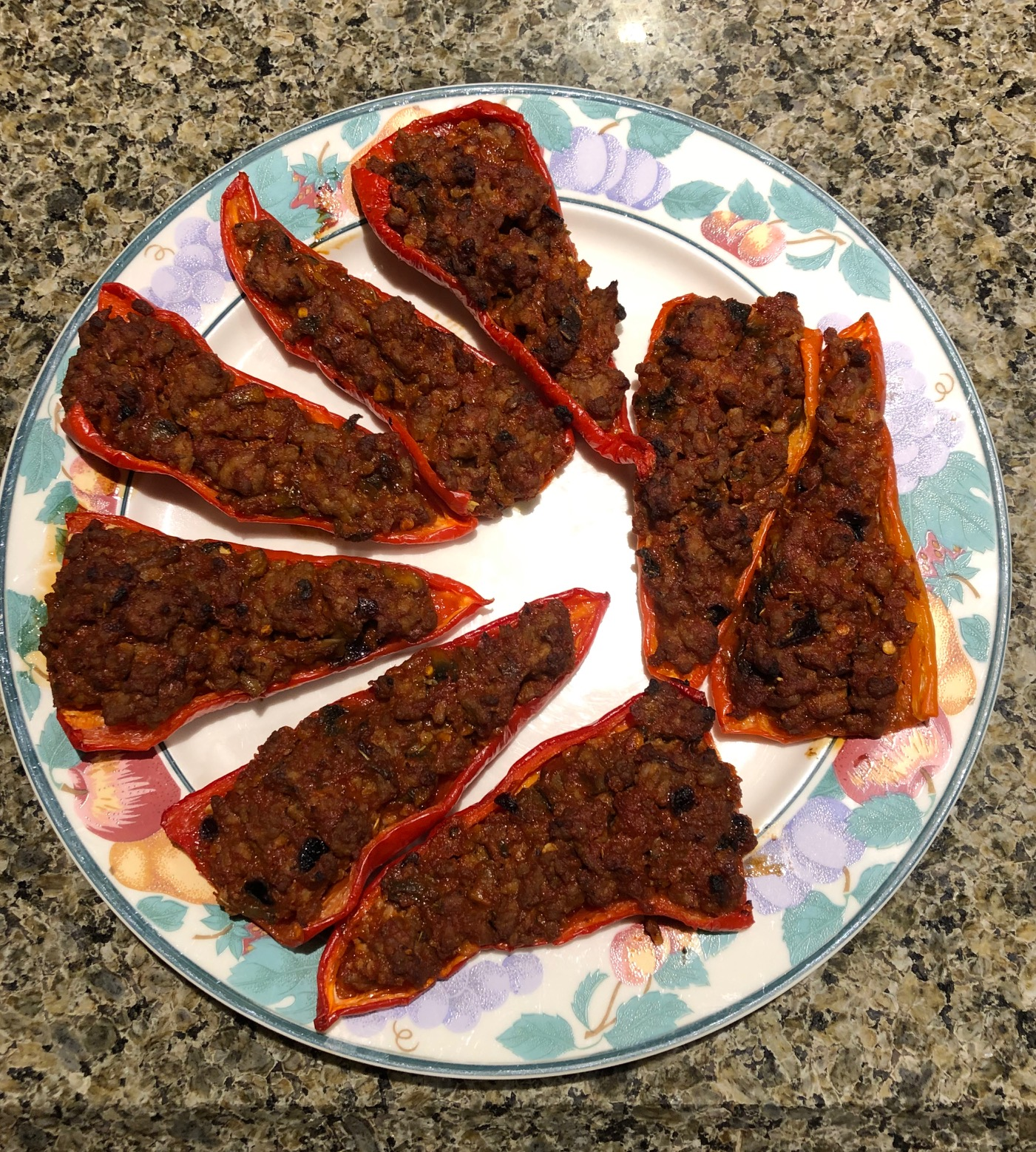 Spicy Sweet Pepper Poppers
