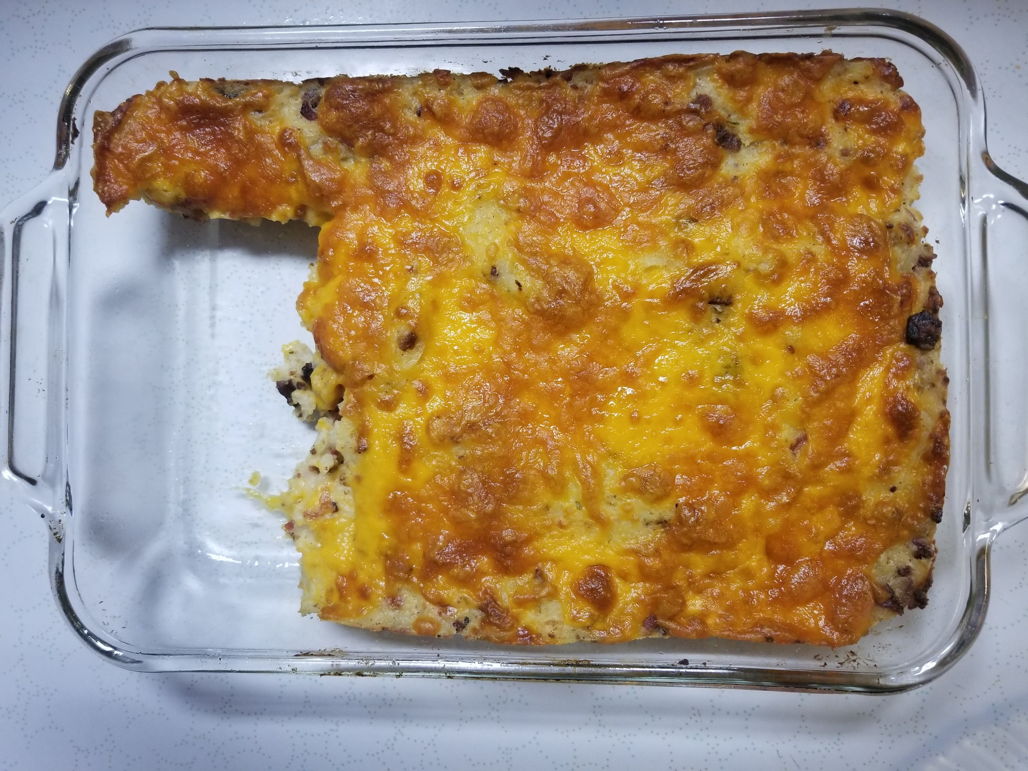 Loaded Bacon, Cheddar, and Ranch Potatoes