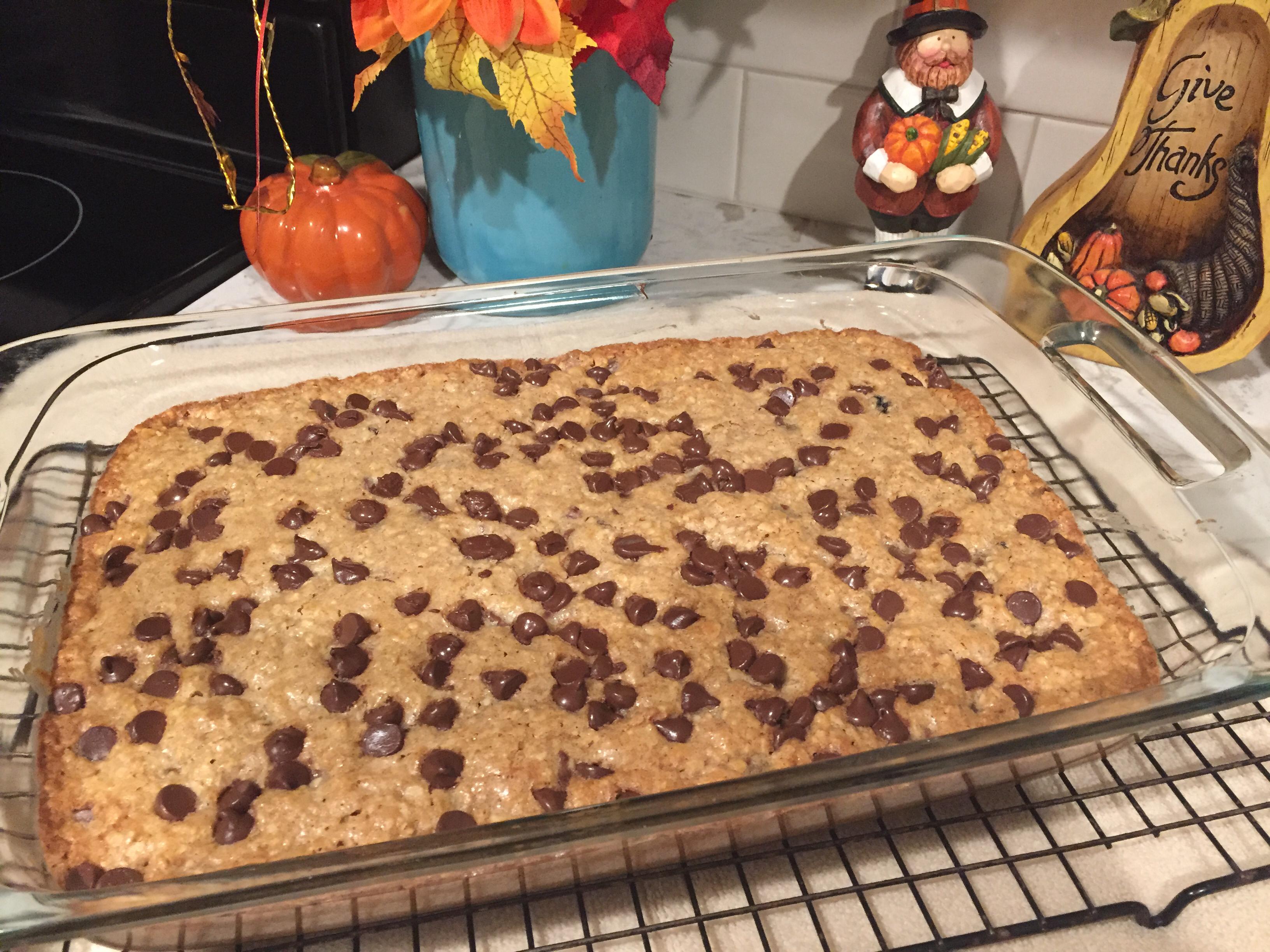 Bake Sale Chocolate Chip Oatmeal Brownies mom