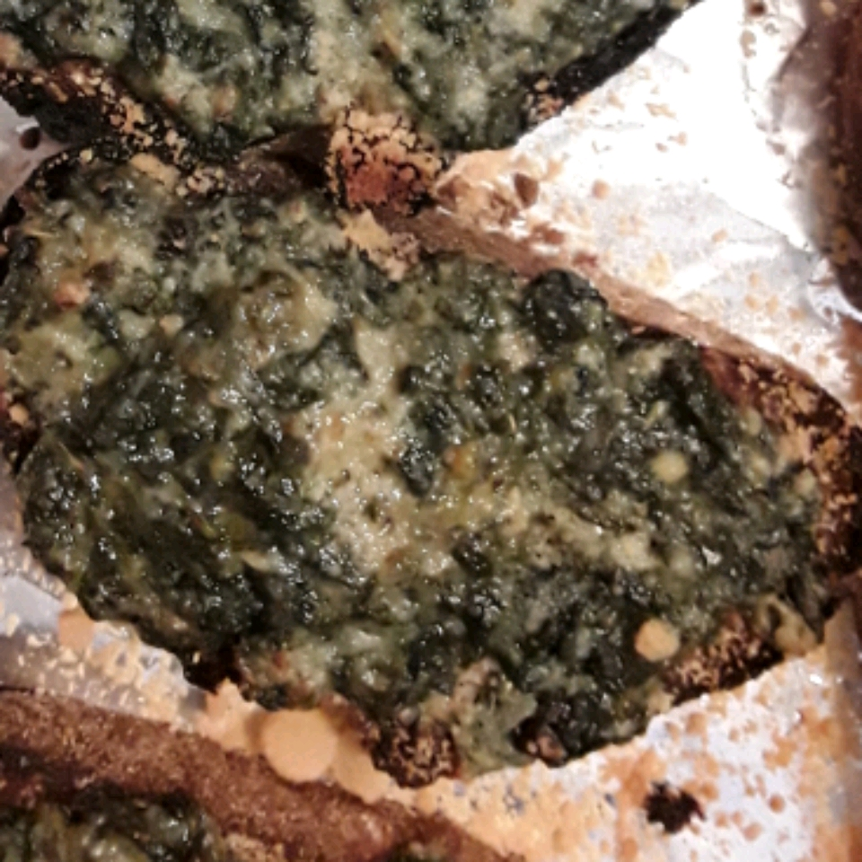 Chef John's Simple Spinach Toasts Hugh Jeffrey Perry