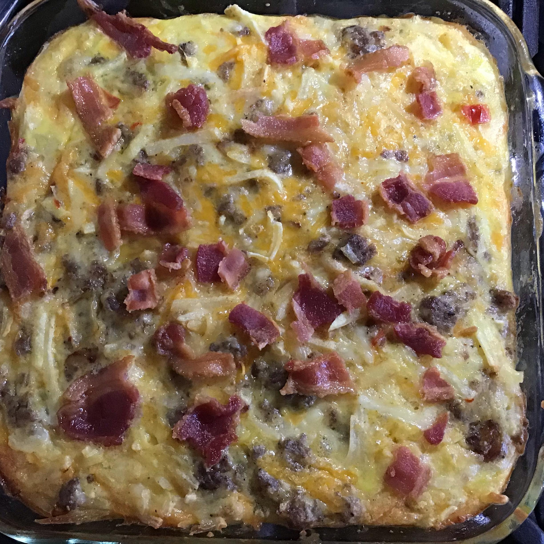 Country Sunday Breakfast Casserole