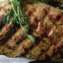 Garlic Herb Grilled Pork Tenderloin SunnyByrd
