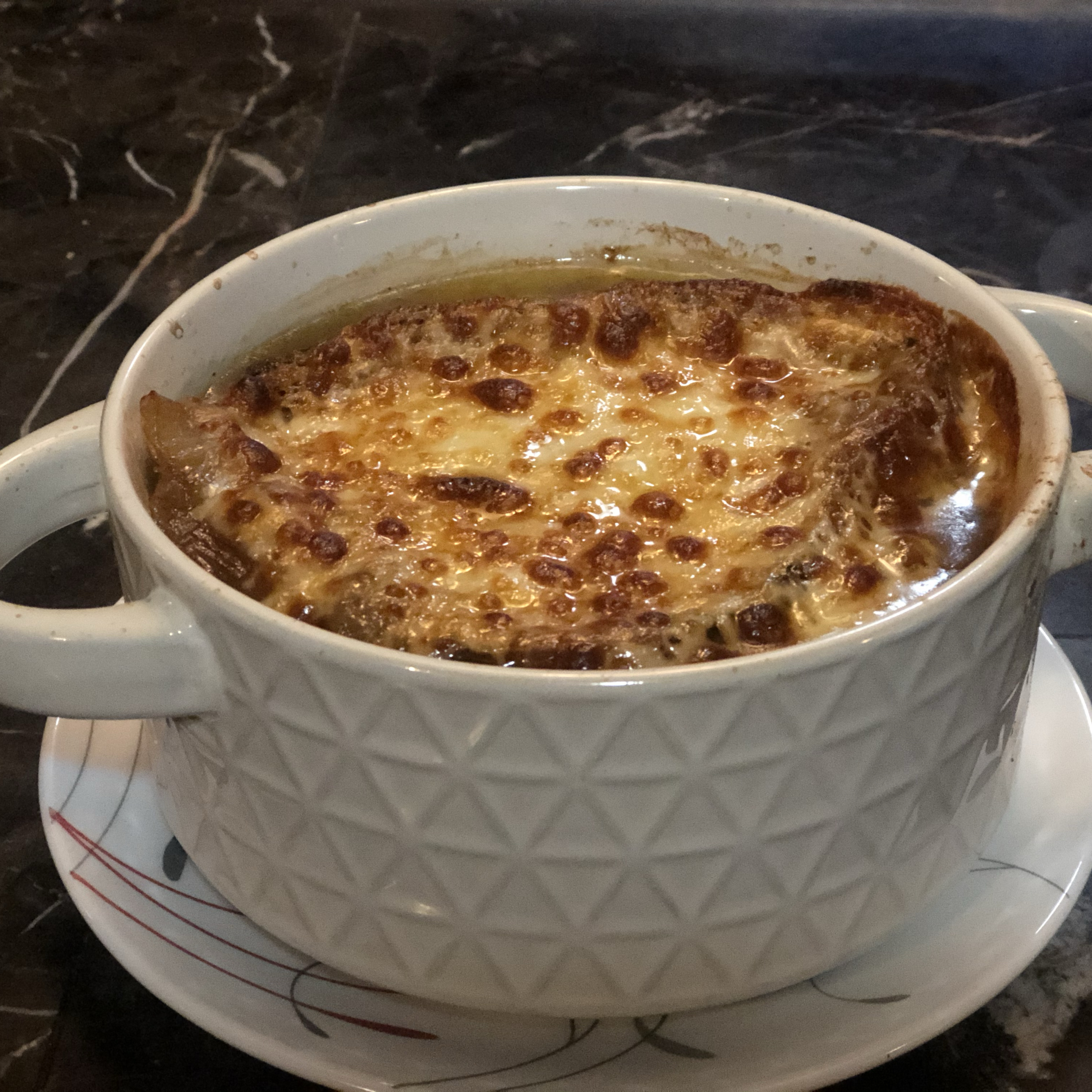 Rich and Simple French Onion Soup