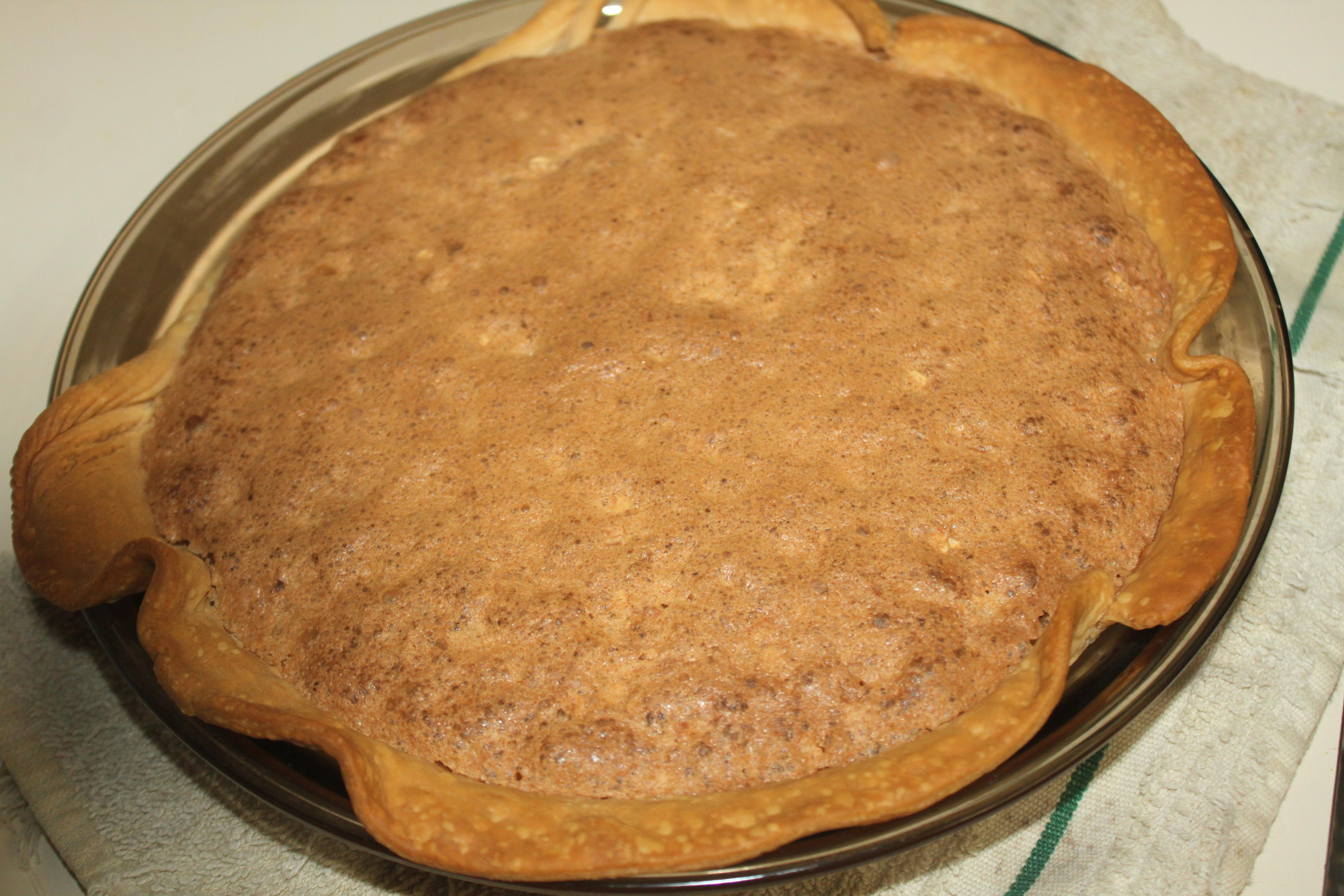 Mock Pecan Pie I Karen