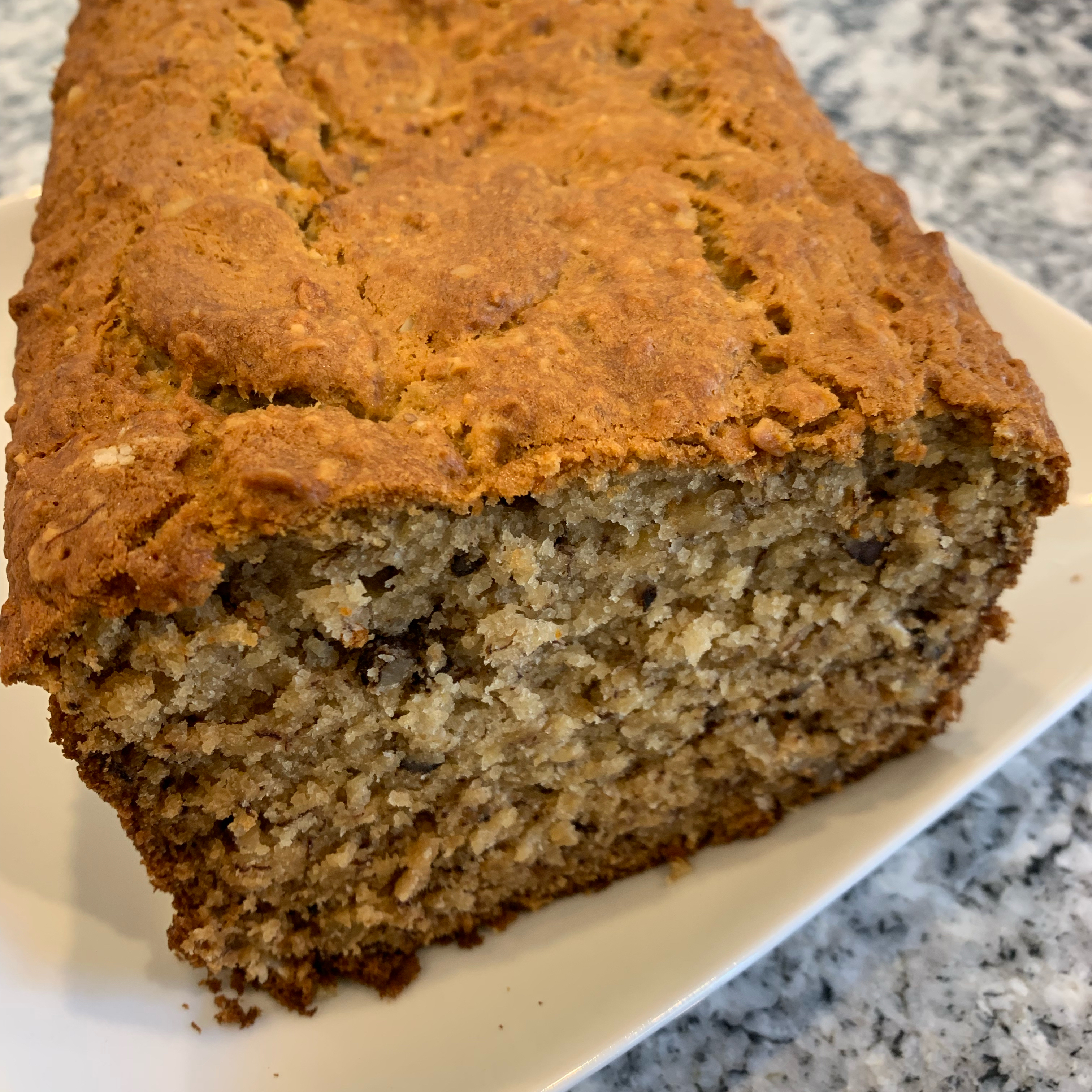 Dee-licious Greek Yogurt Banana Bread