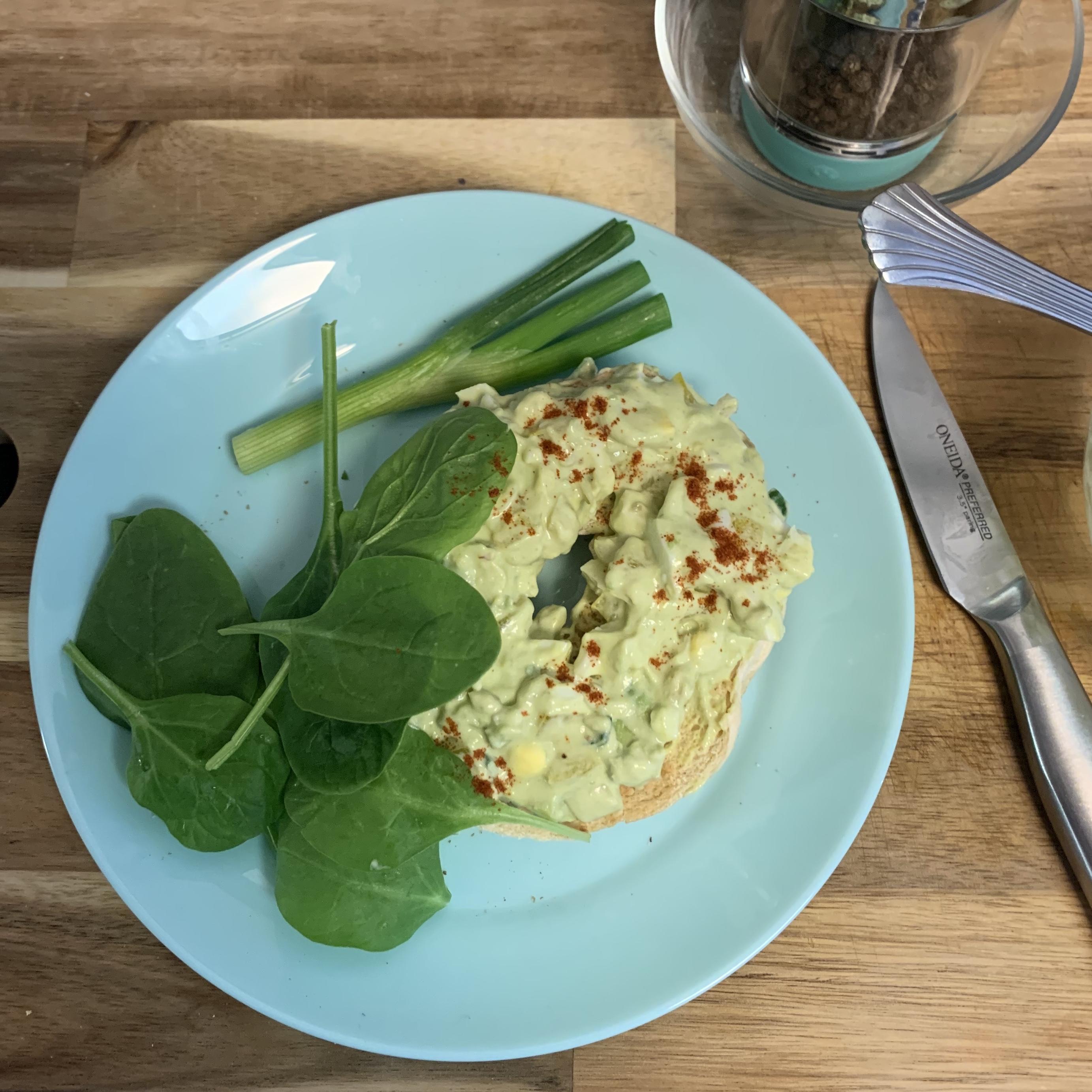 Green Egg Salad Davin N