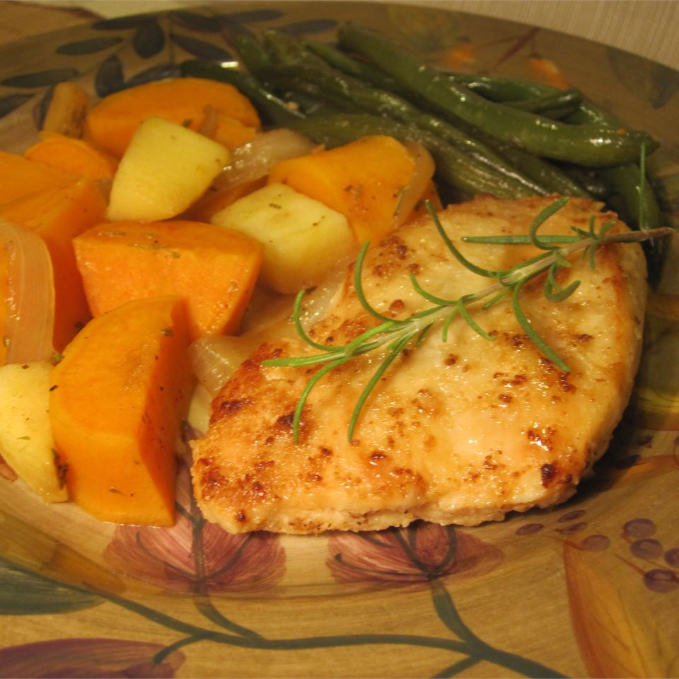 Golden Chicken and Autumn Vegetables Melissa Conger