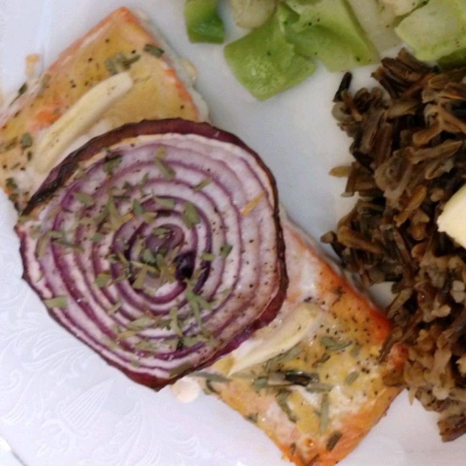 Dijon Garlic Salmon
