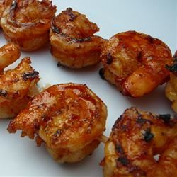 Grilled Garlic and Herb Shrimp Marlena C.